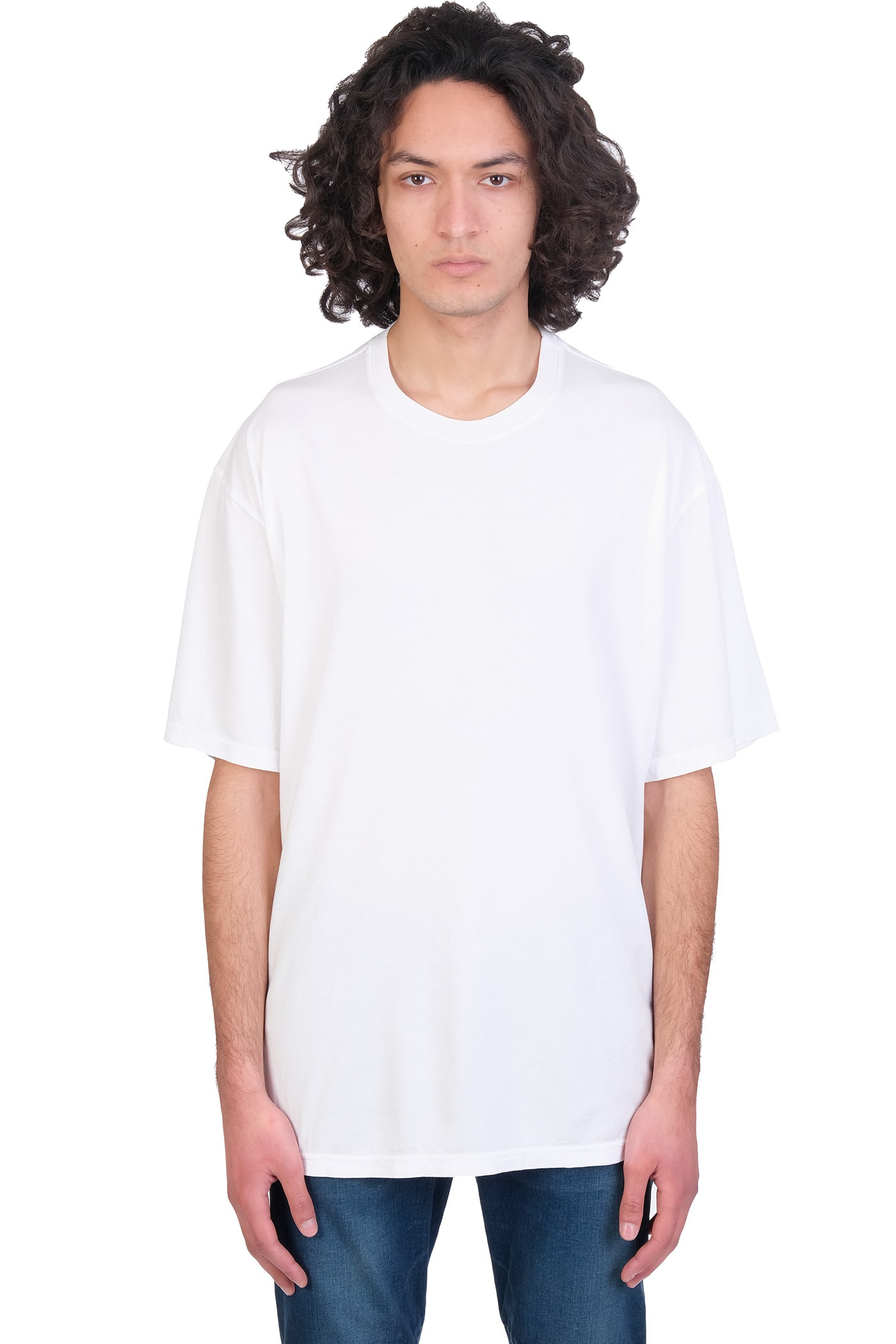 Attachment T-shirt In White Cotton