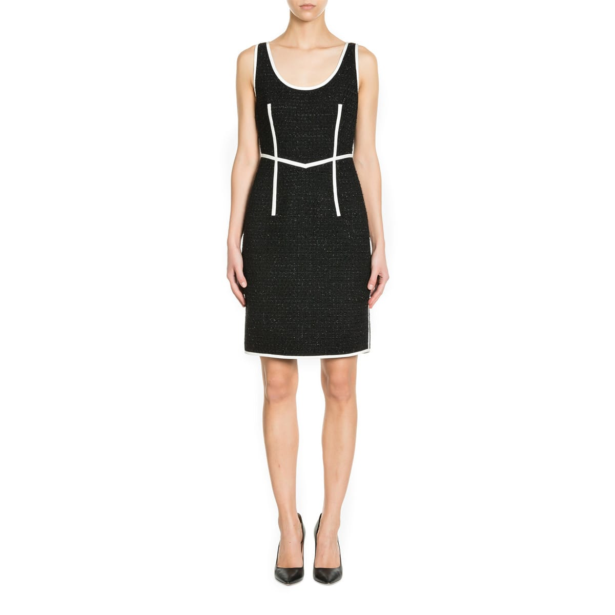 Boutique Moschino Blend Virgin Wool Dress