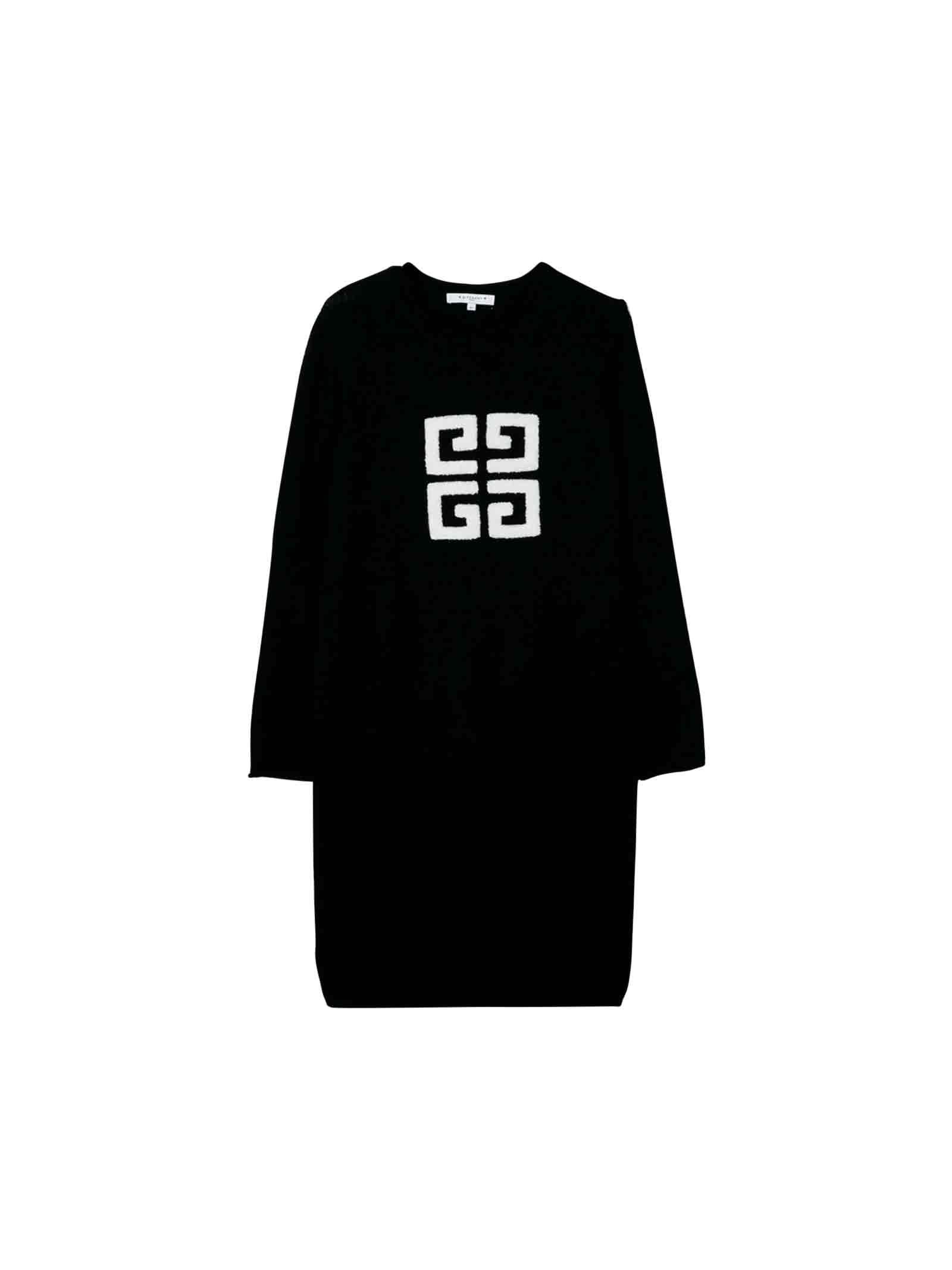 Givenchy Black Knit Dress