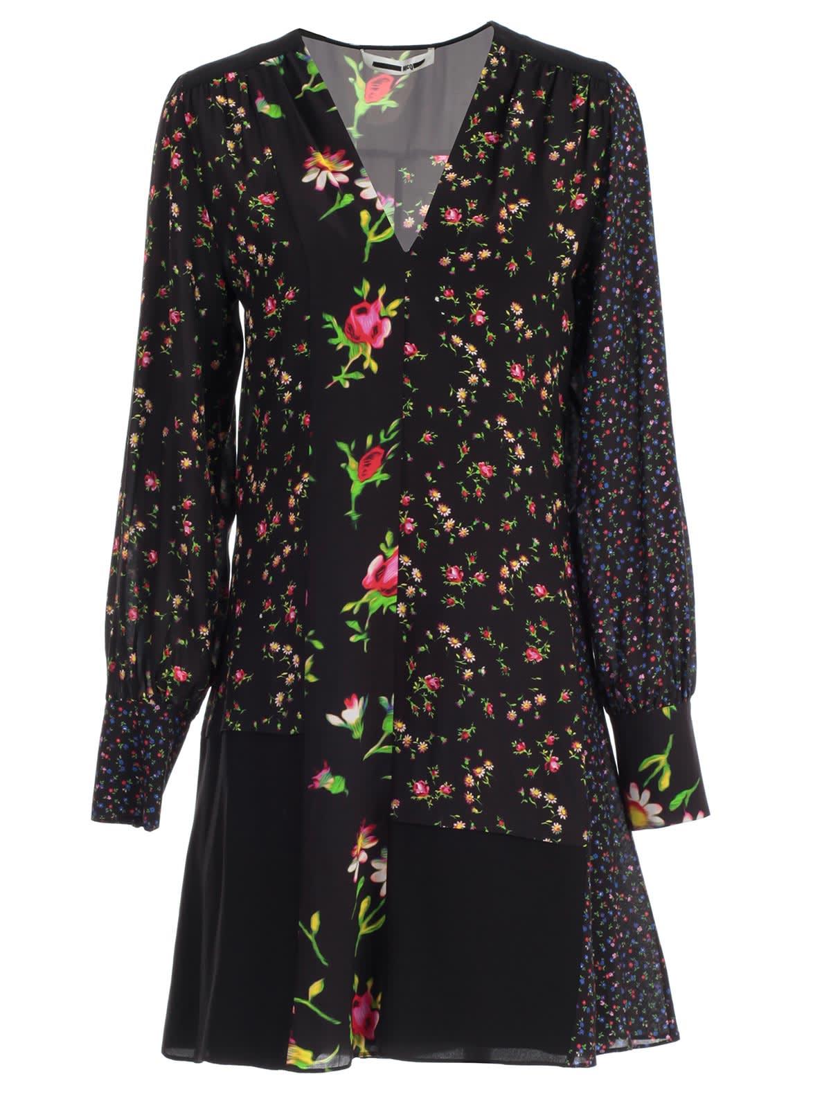 McQ Alexander McQueen Dress L & s Cut Boudoir