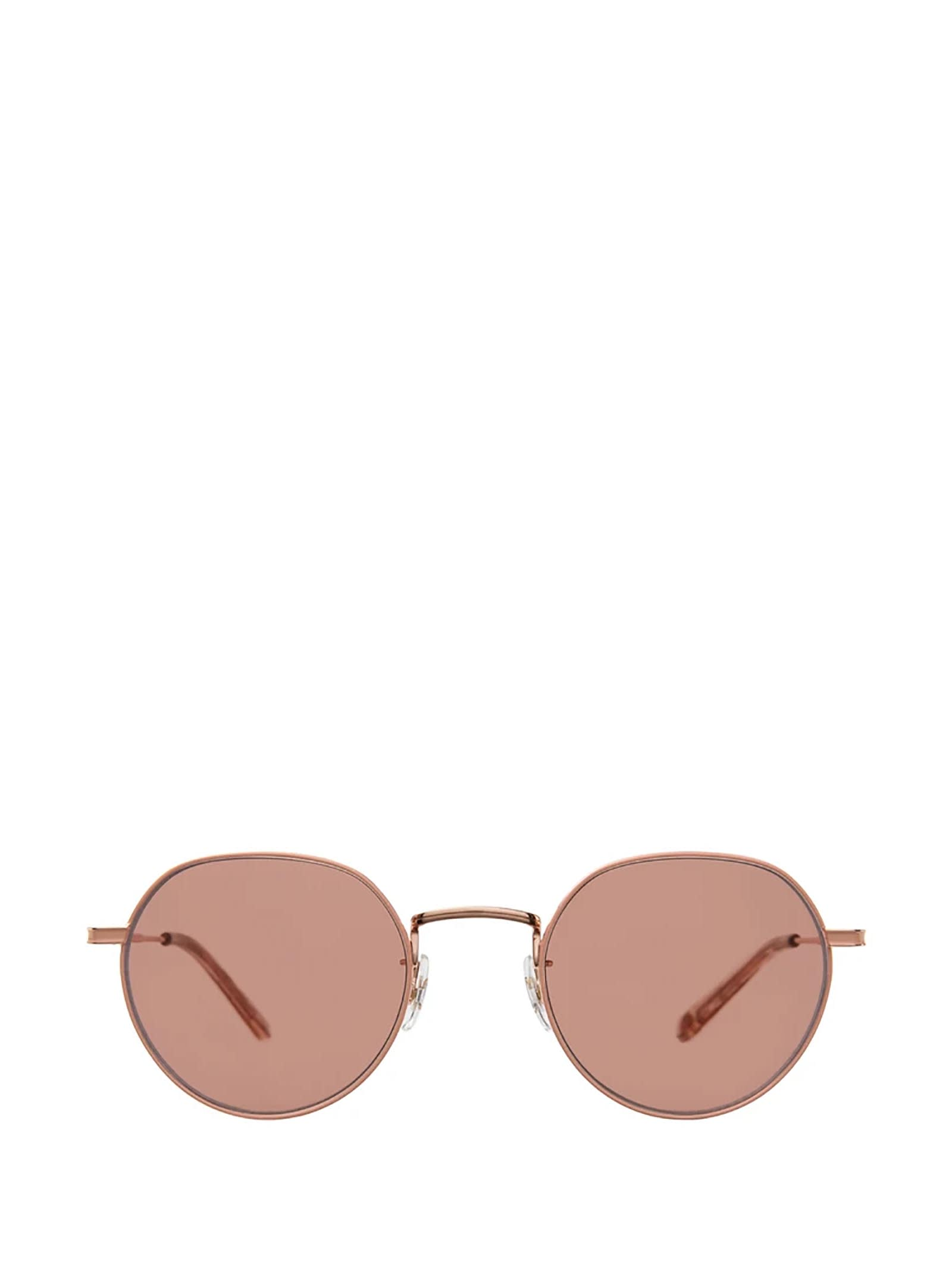 Garrett Leight Garrett Leight Robson Sun Rose Gold-nude Sunglasses