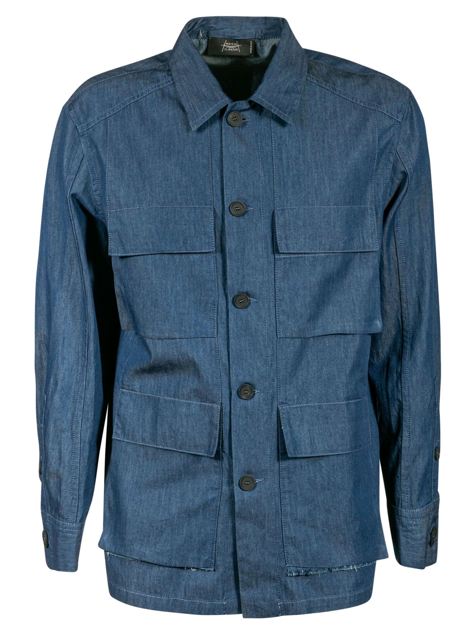 Quad Pocket Denim Jacket