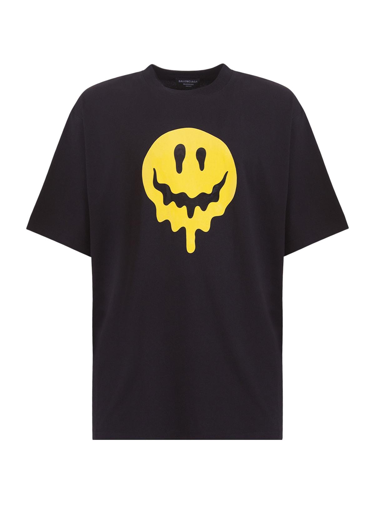Balenciaga T-shirts LARGE FIT T-SHIRT