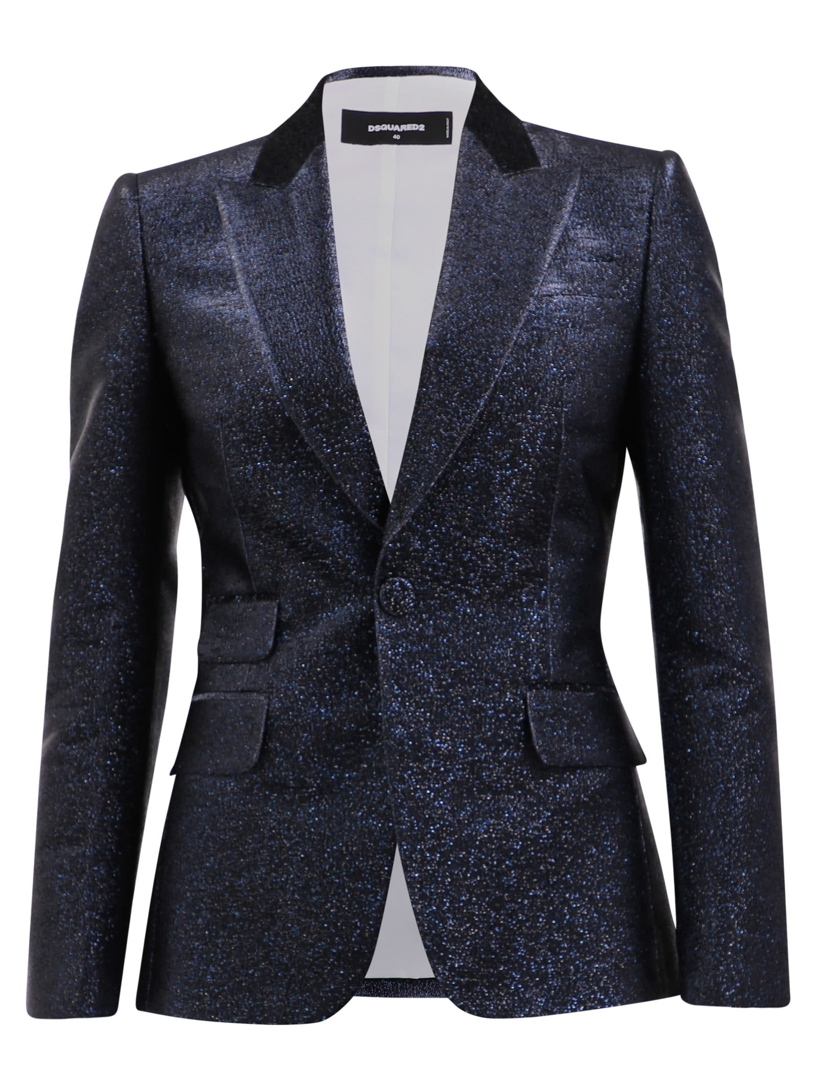 Photo of  Dsquared2 Glitter Blazer- shop Dsquared2 jackets online sales