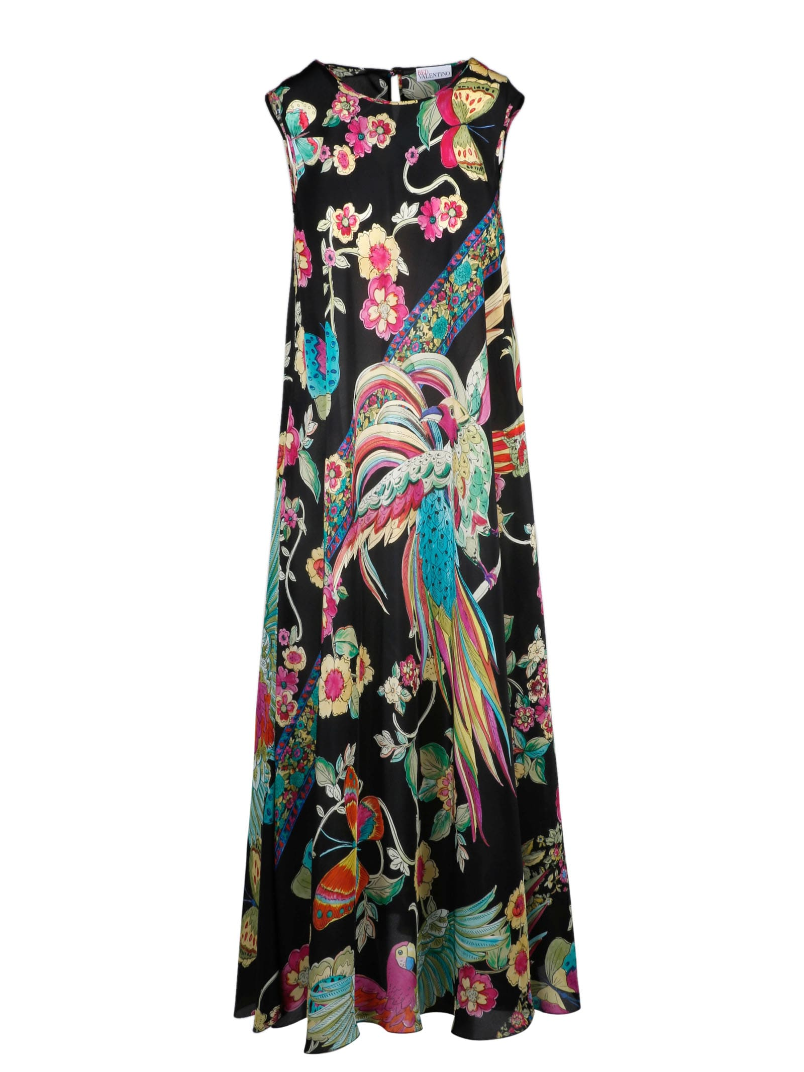 Buy RED Valentino Bird Of Paradise Dress online, shop RED Valentino with free shipping