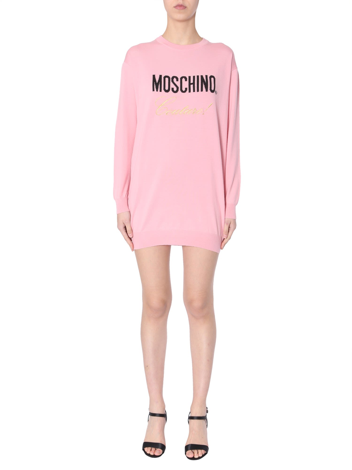 Photo of  Moschino Knitted Dress- shop Moschino  online sales