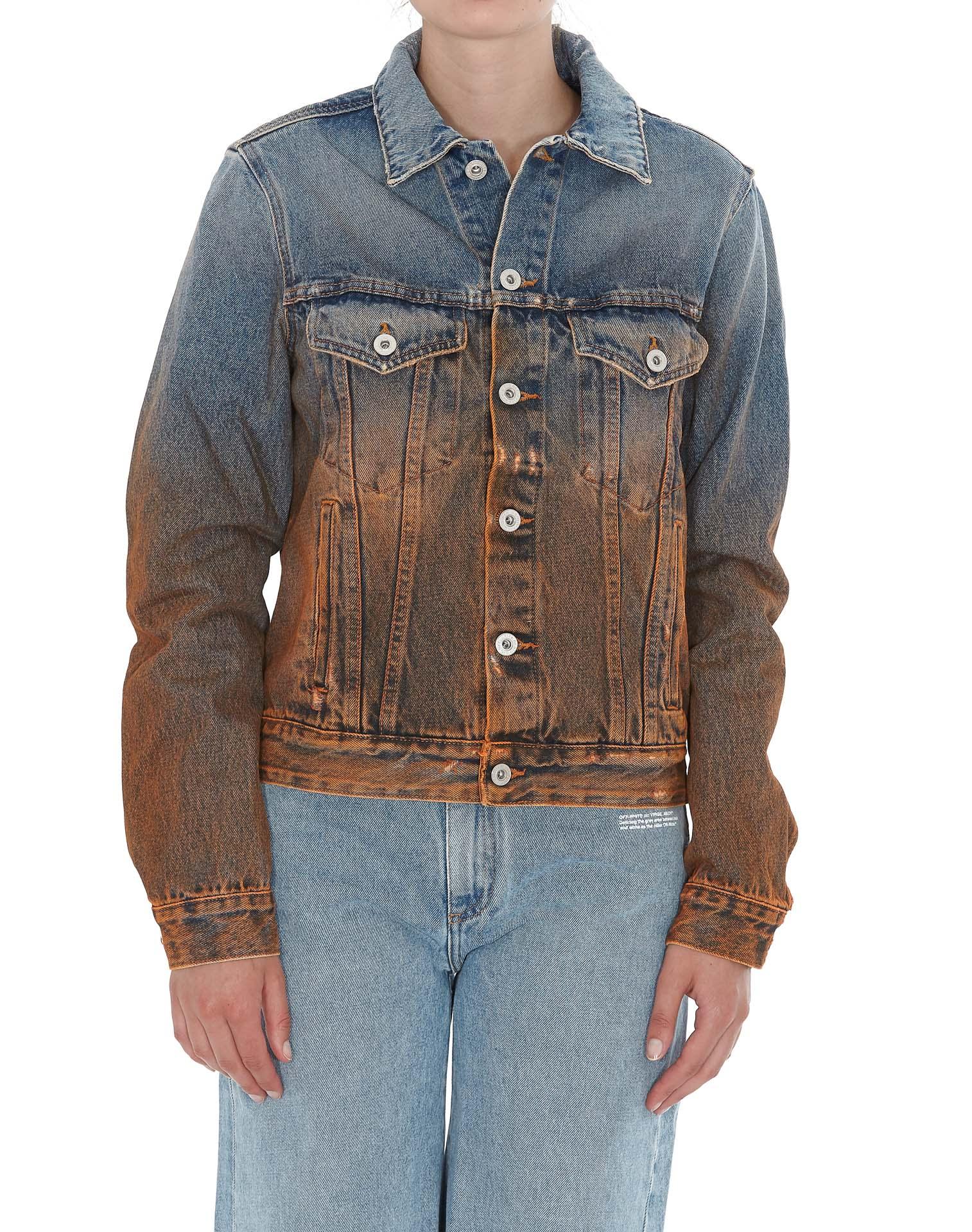 Photo of  Off-white Denim Jacket- shop Off-White jackets online sales