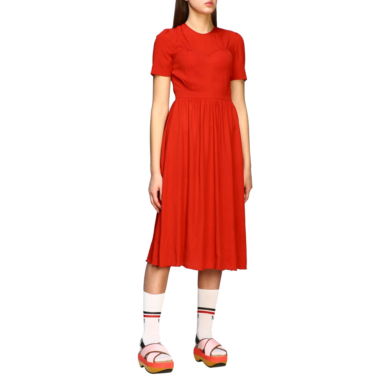Buy N° 21 Dress N ° 21 Dress In Crêpe De Chine online, shop N.21 with free shipping