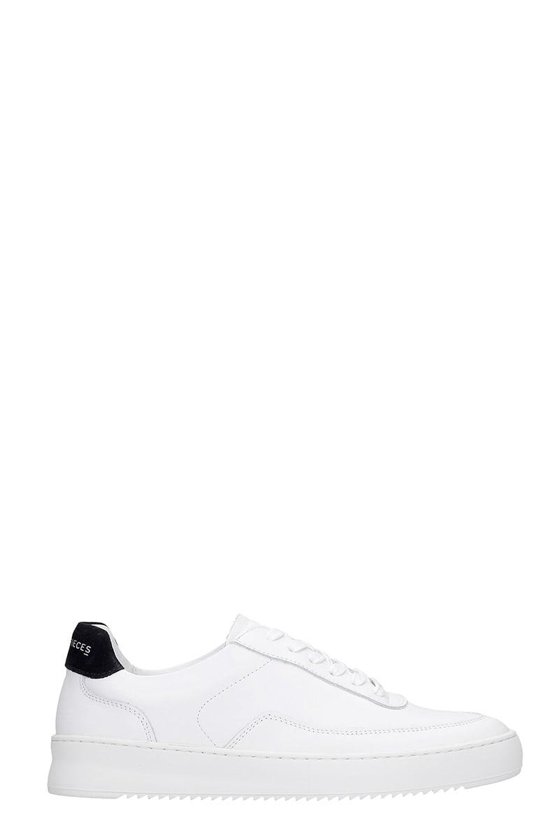 Mondo 2.0 Rippl Sneakers In White Leather