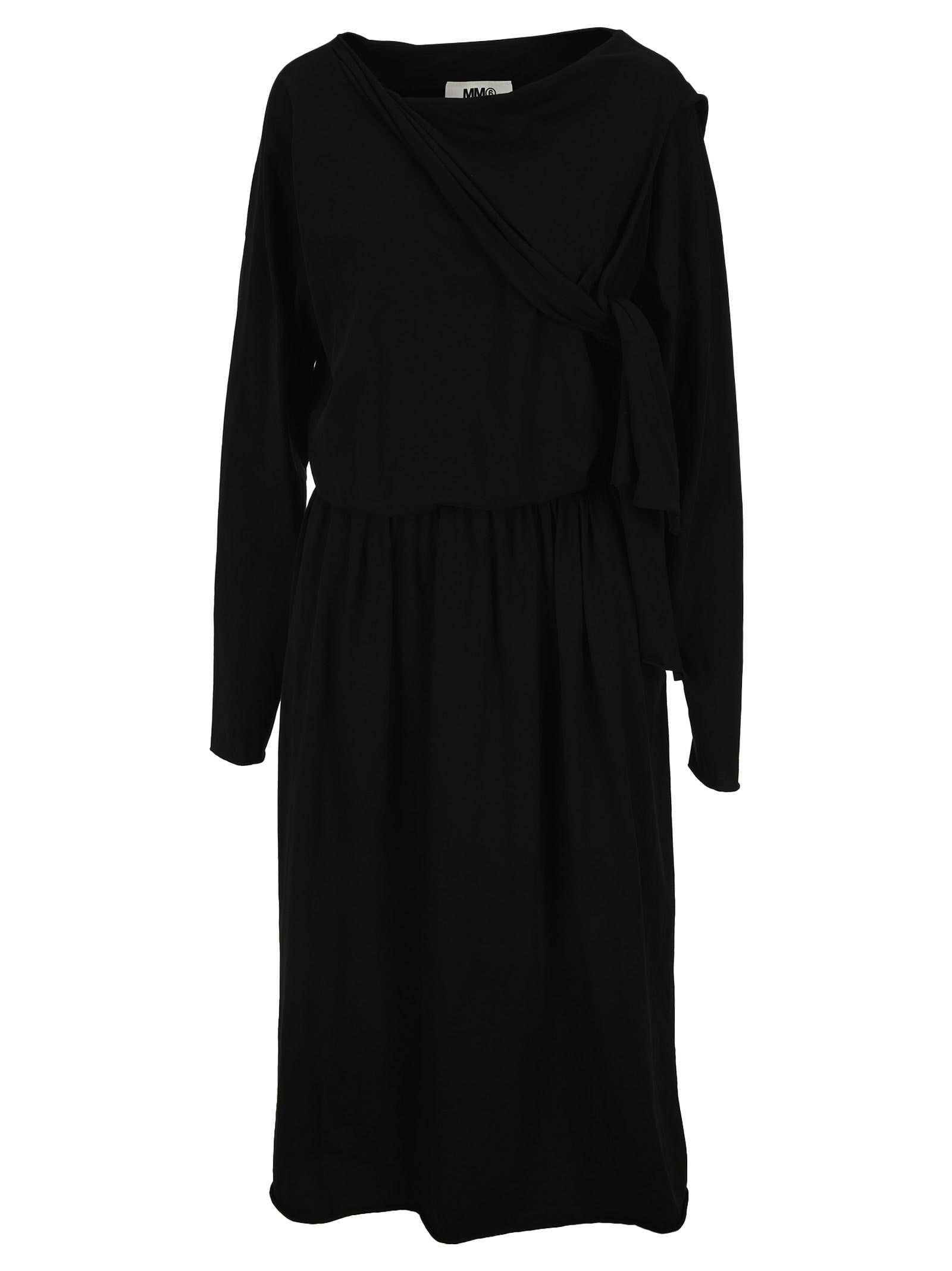 MM6 MAISON MARGIELA MM6 DRAPED MIDI DRESS