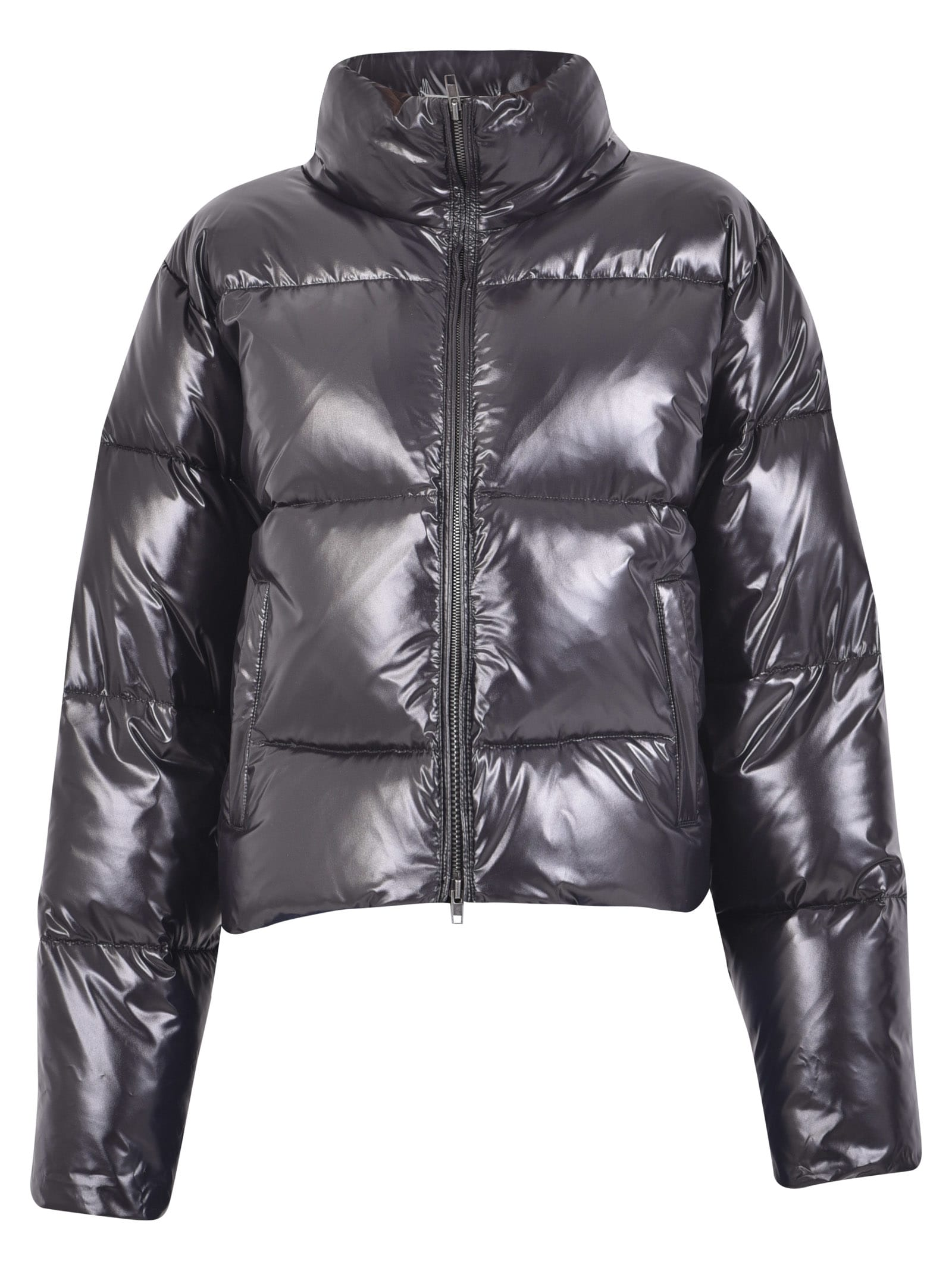 Maison Margiela Cropped Padded Jacket