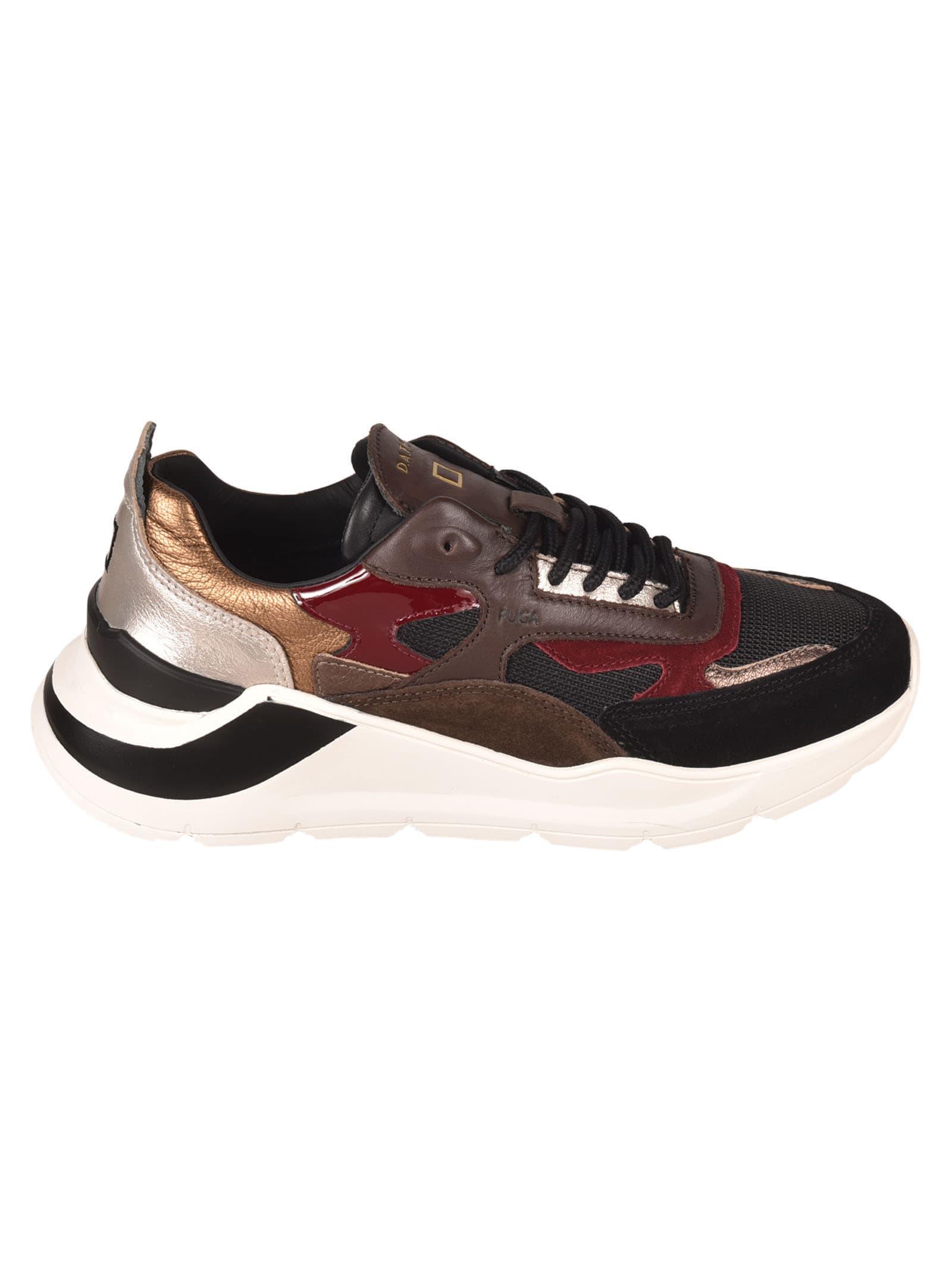 D.a.t.e. Fuga Dragon Sneakers In Black
