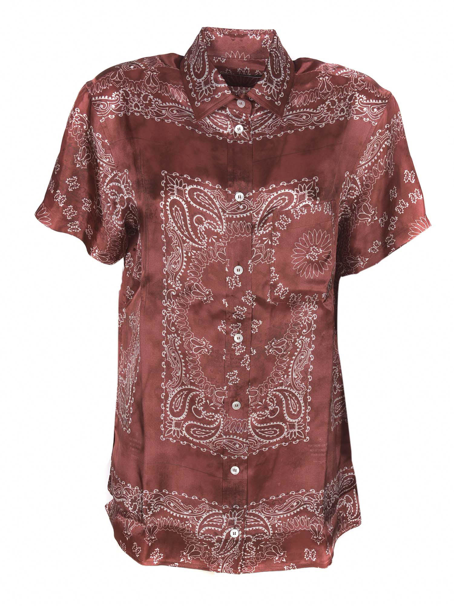 Golden Goose Shirts CLARISSA PAISLEY PRINT SHIRT
