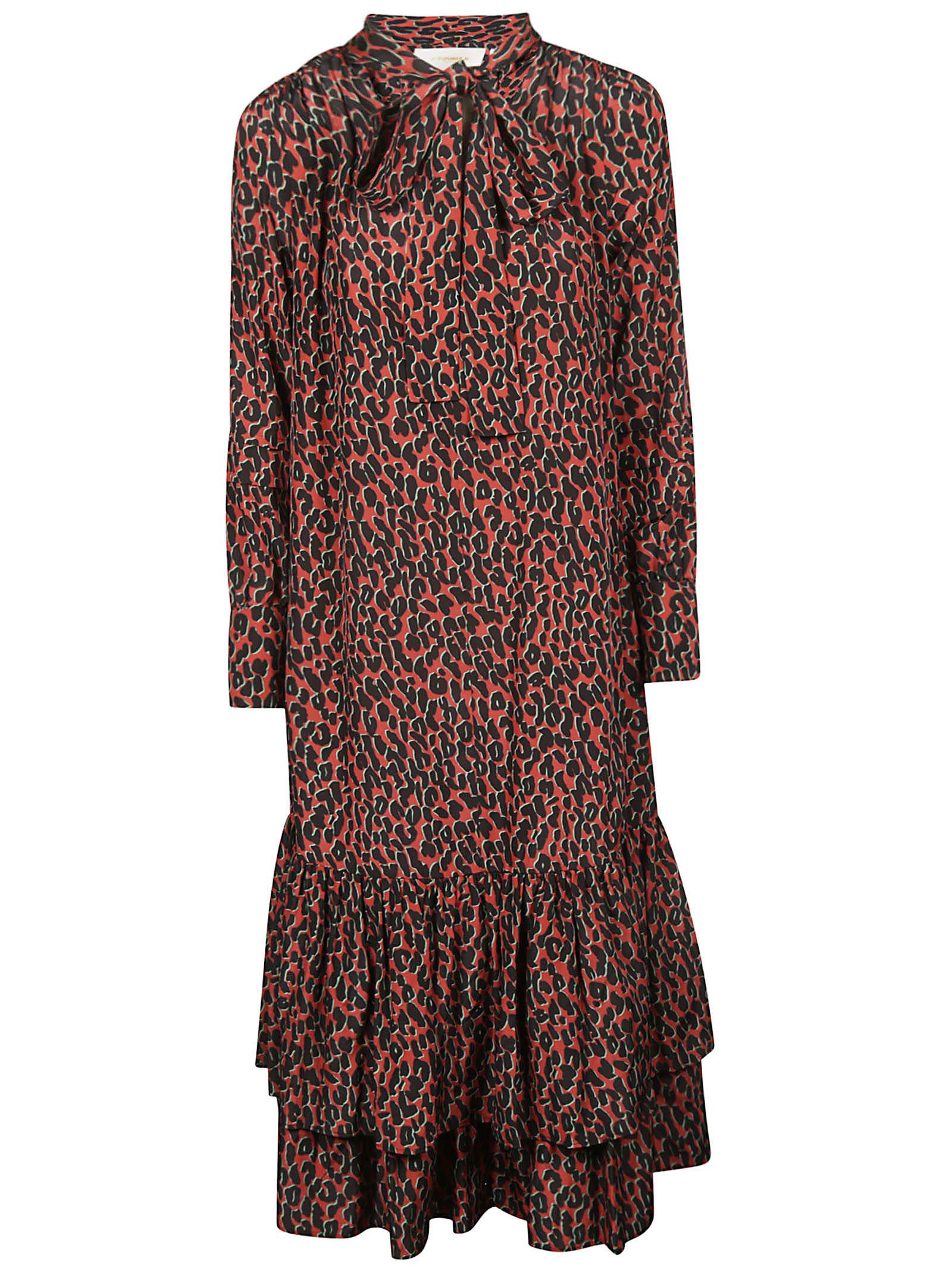 La DoubleJ Leopard Dress