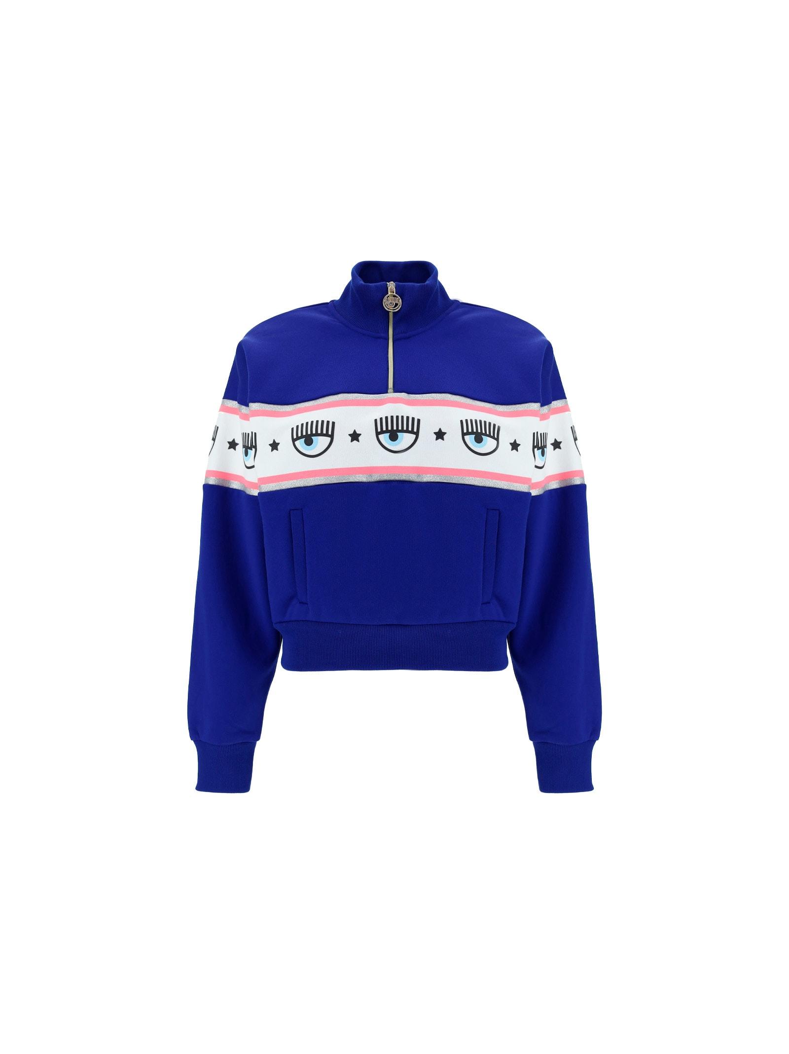 Chiara Ferragni Sweatshirt In Surf The Web