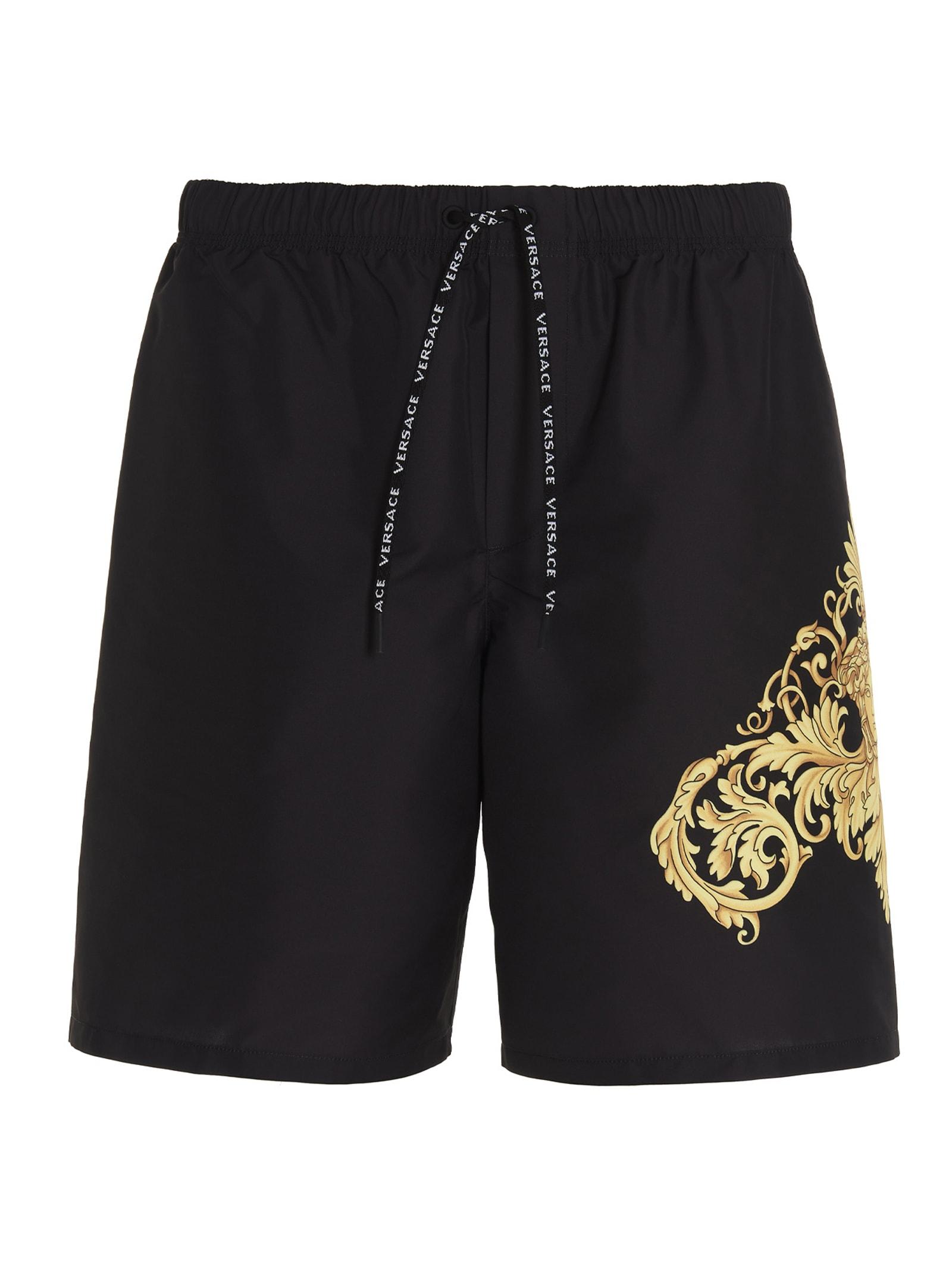 Versace Swimshorts In Black