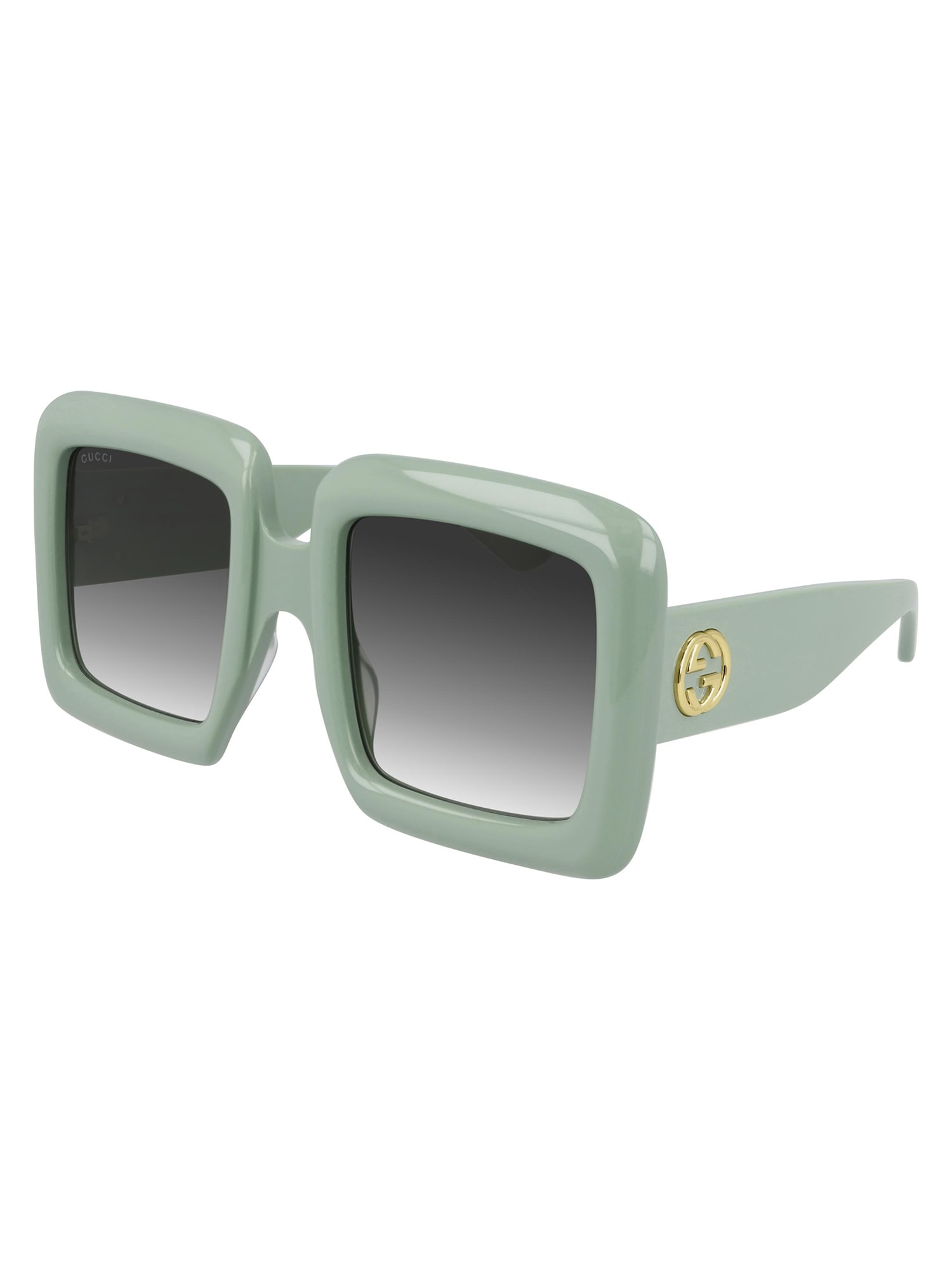 Gucci Gg0783s Sunglasses In Green Green Green