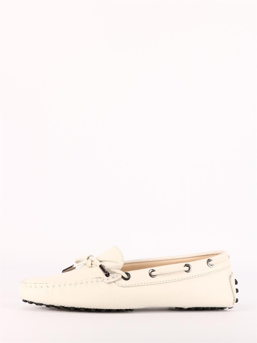 Tod's WHITE GOMMINO MOCCASIN
