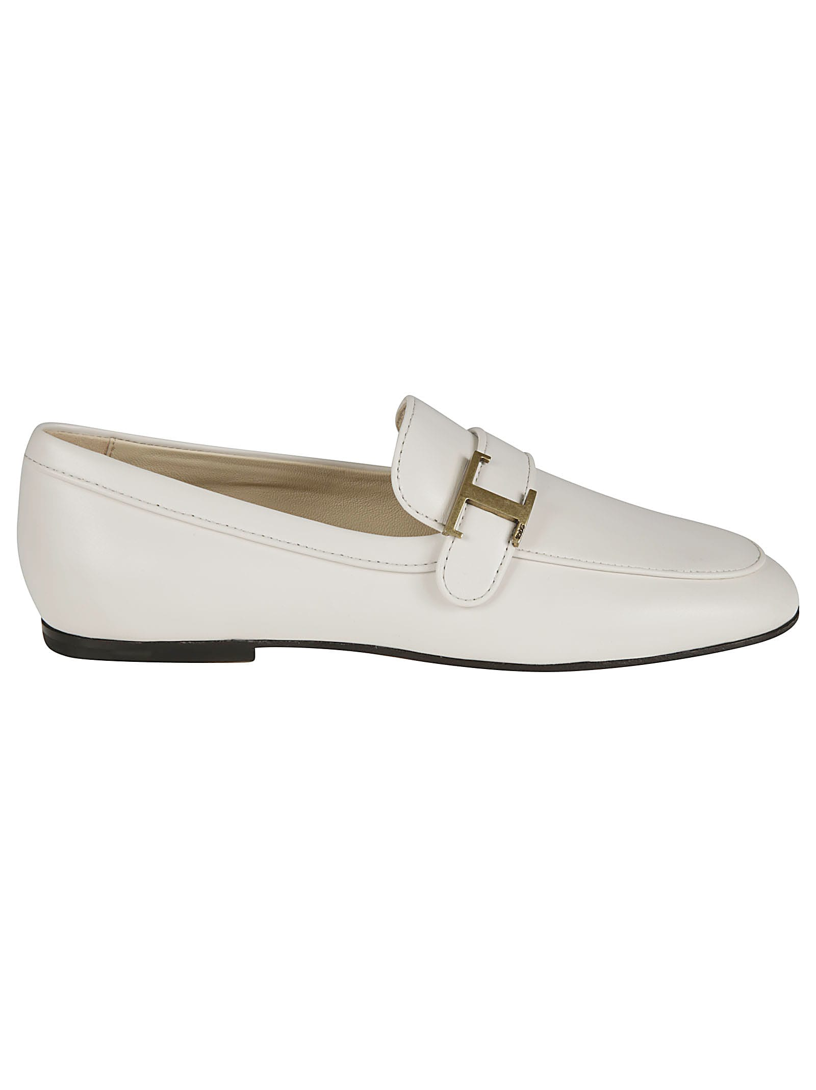 Tod's SIDE T PLAQUE LOAFERS