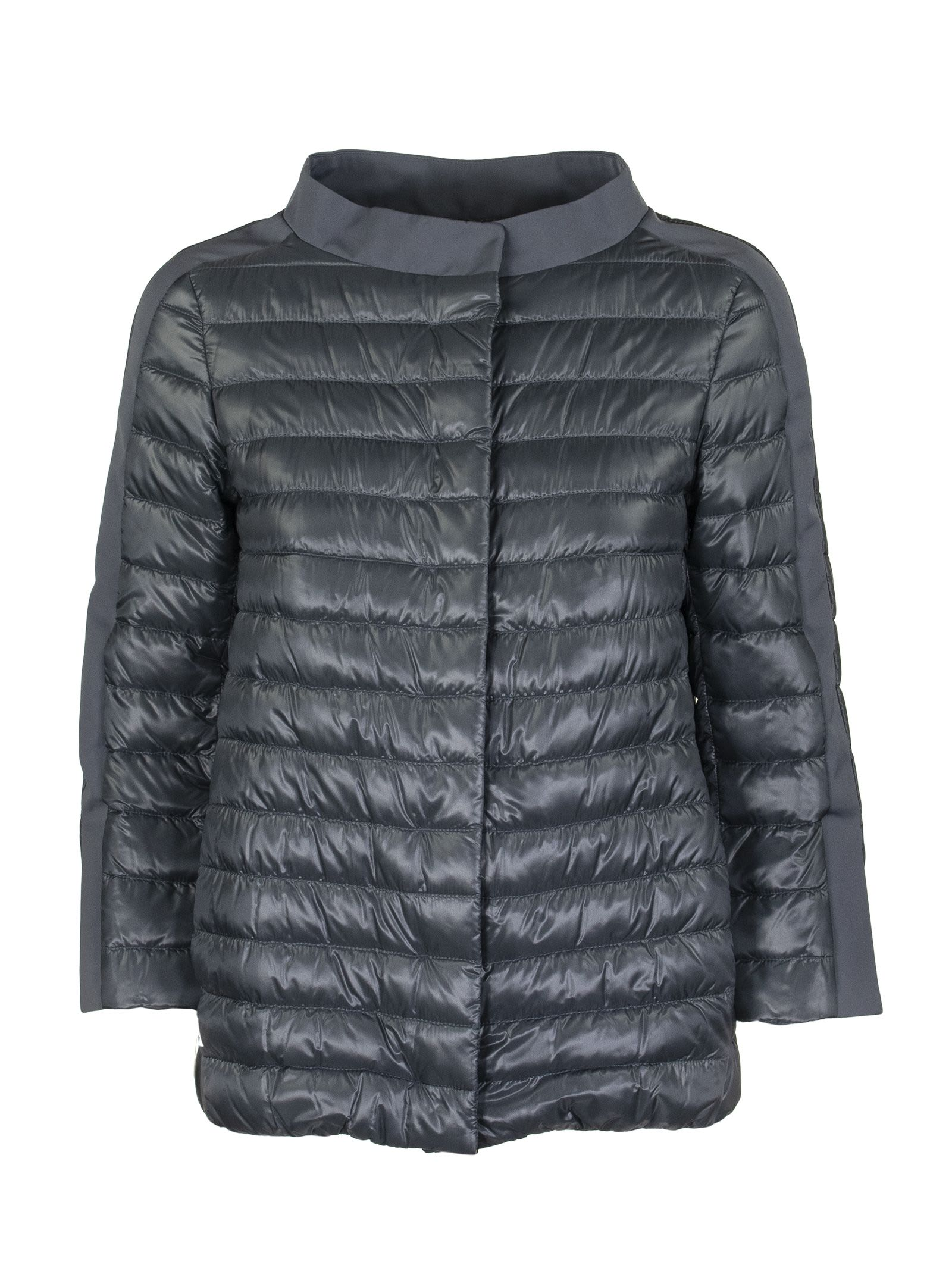 Herno Down Jacket With Petal Sleeves