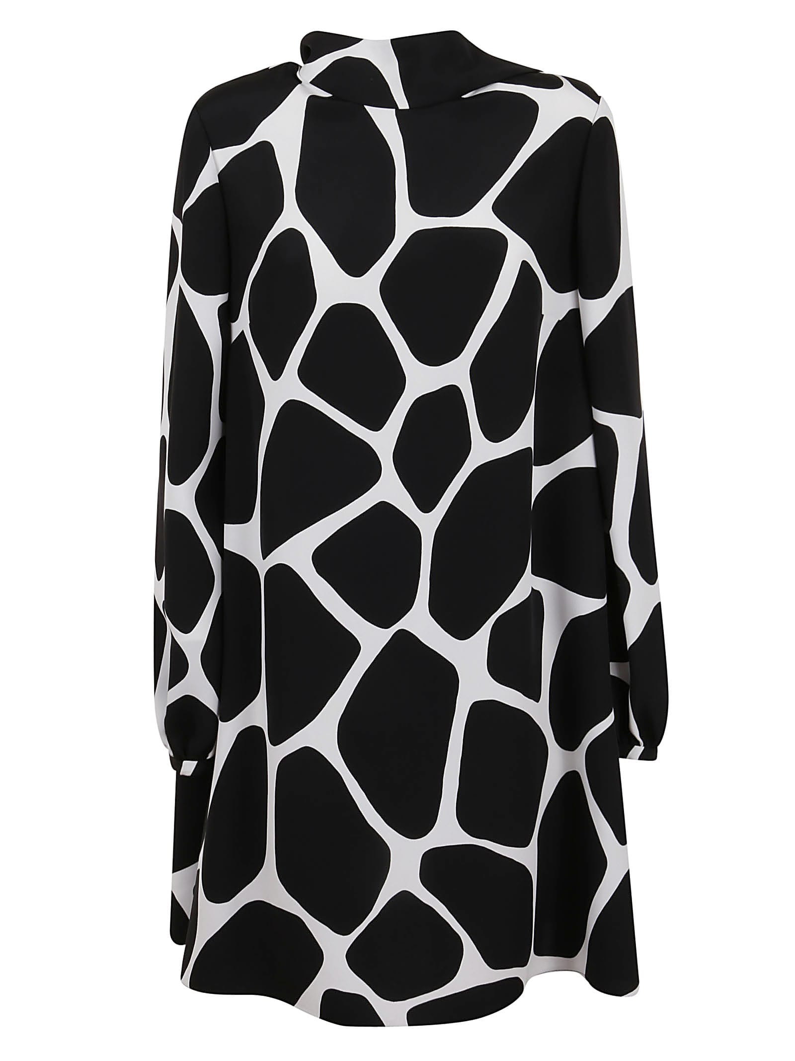 Buy Valentino Cow Pint Dress online, shop Valentino with free shipping