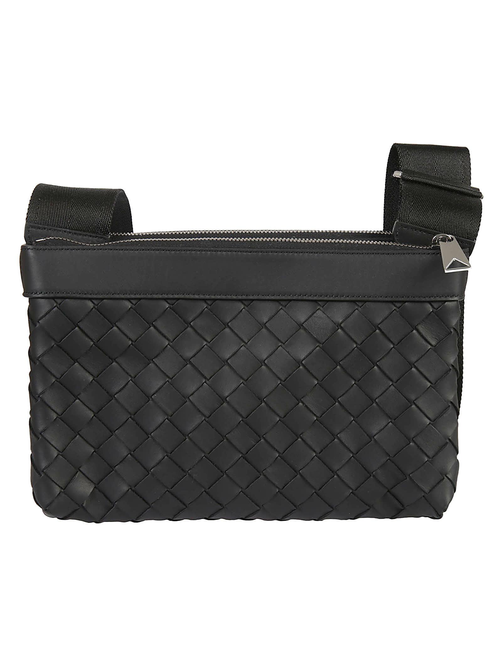Bottega Veneta Weaved Detail Shoulder Bag