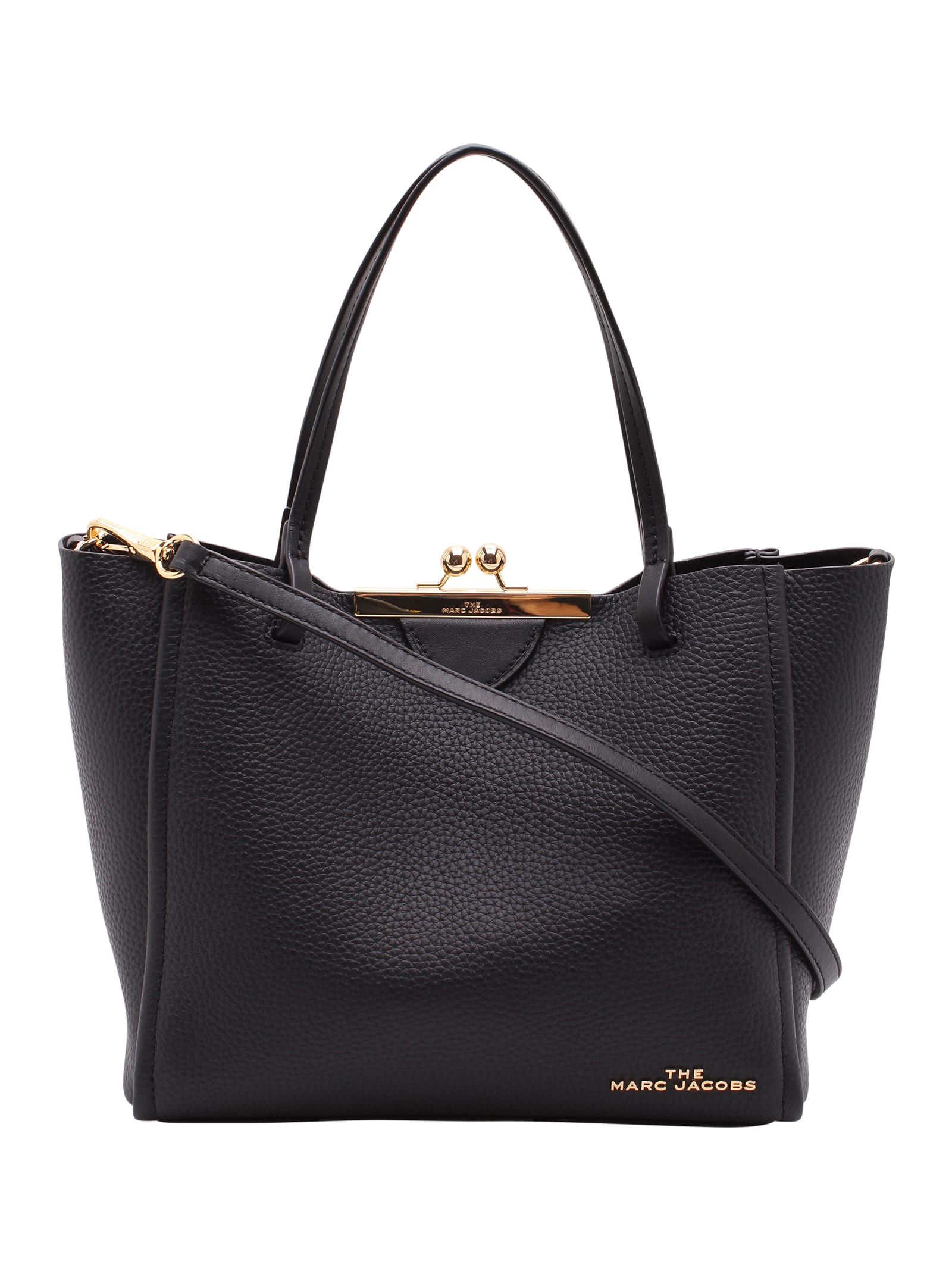 Marc Jacobs kiss Lock Mini Leather Tote Bag