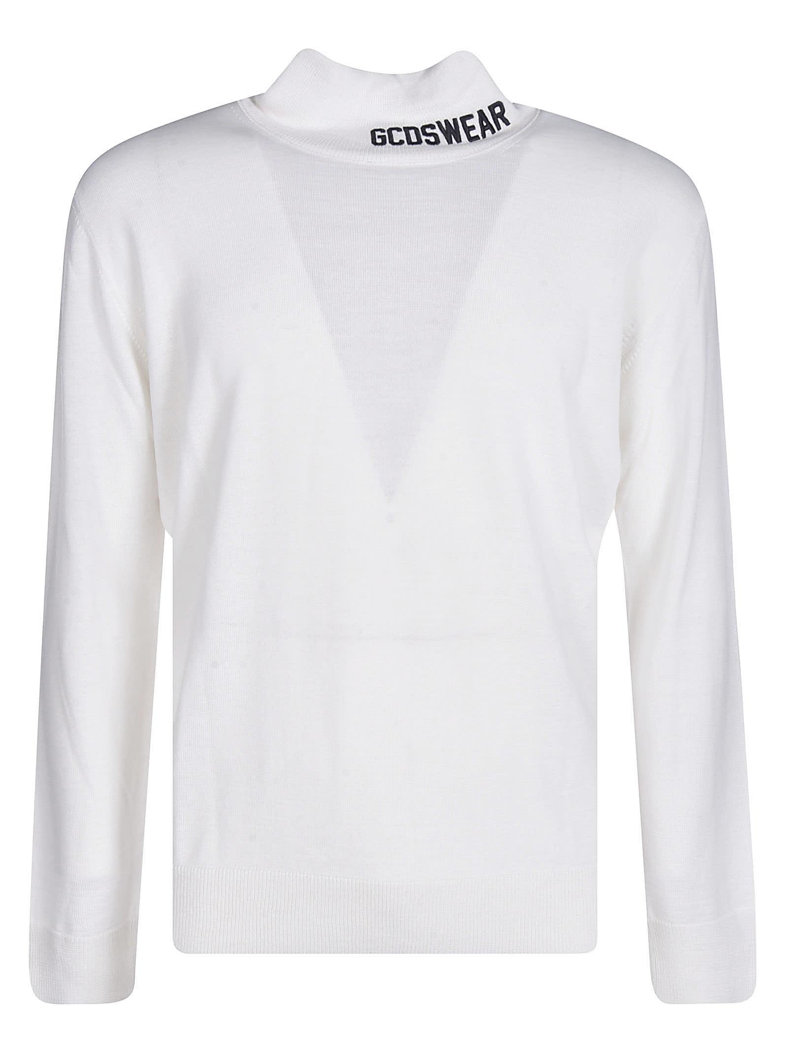 GCDS Neck Logo Sweater