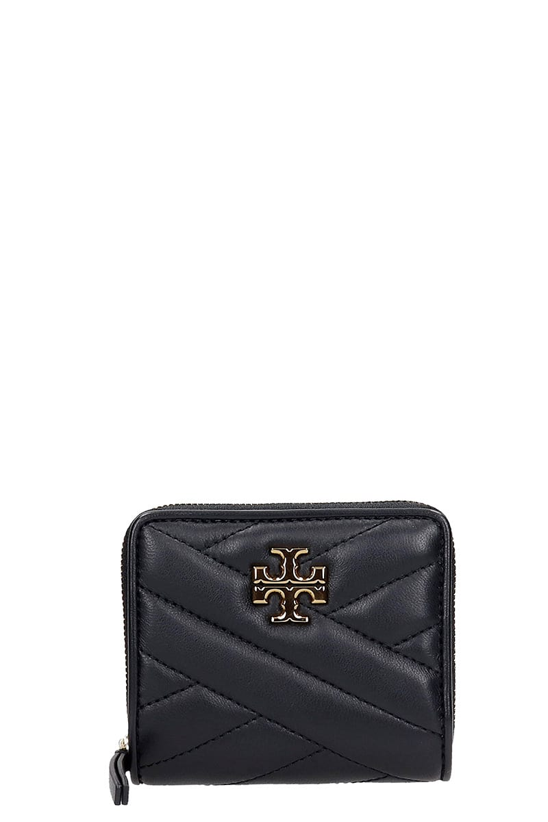 Tory Burch Wallet In Black Leather