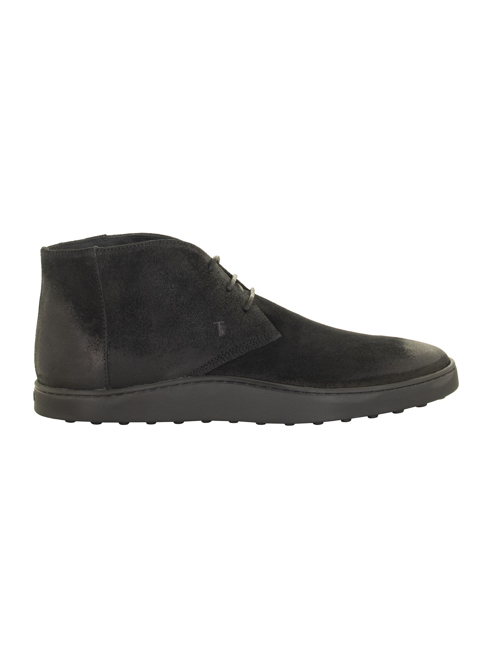 Tods Black Desert Boots