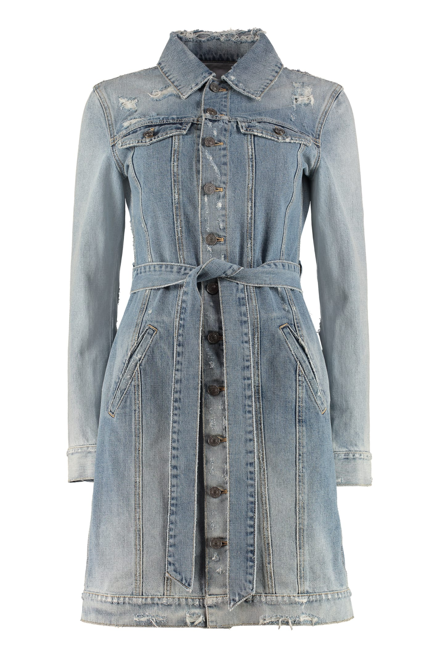 Buy Givenchy Denim Dress online, shop Givenchy with free shipping