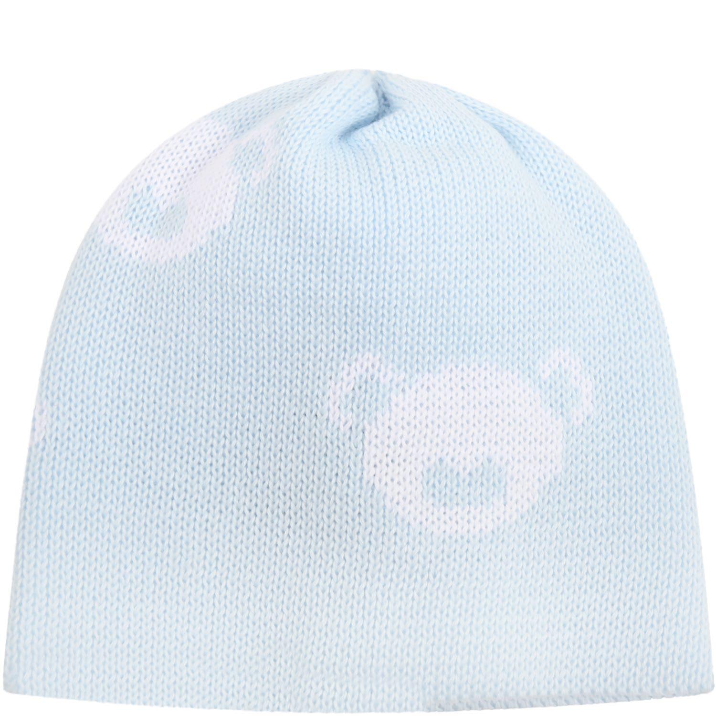 Light Blue Hat For Babyboy