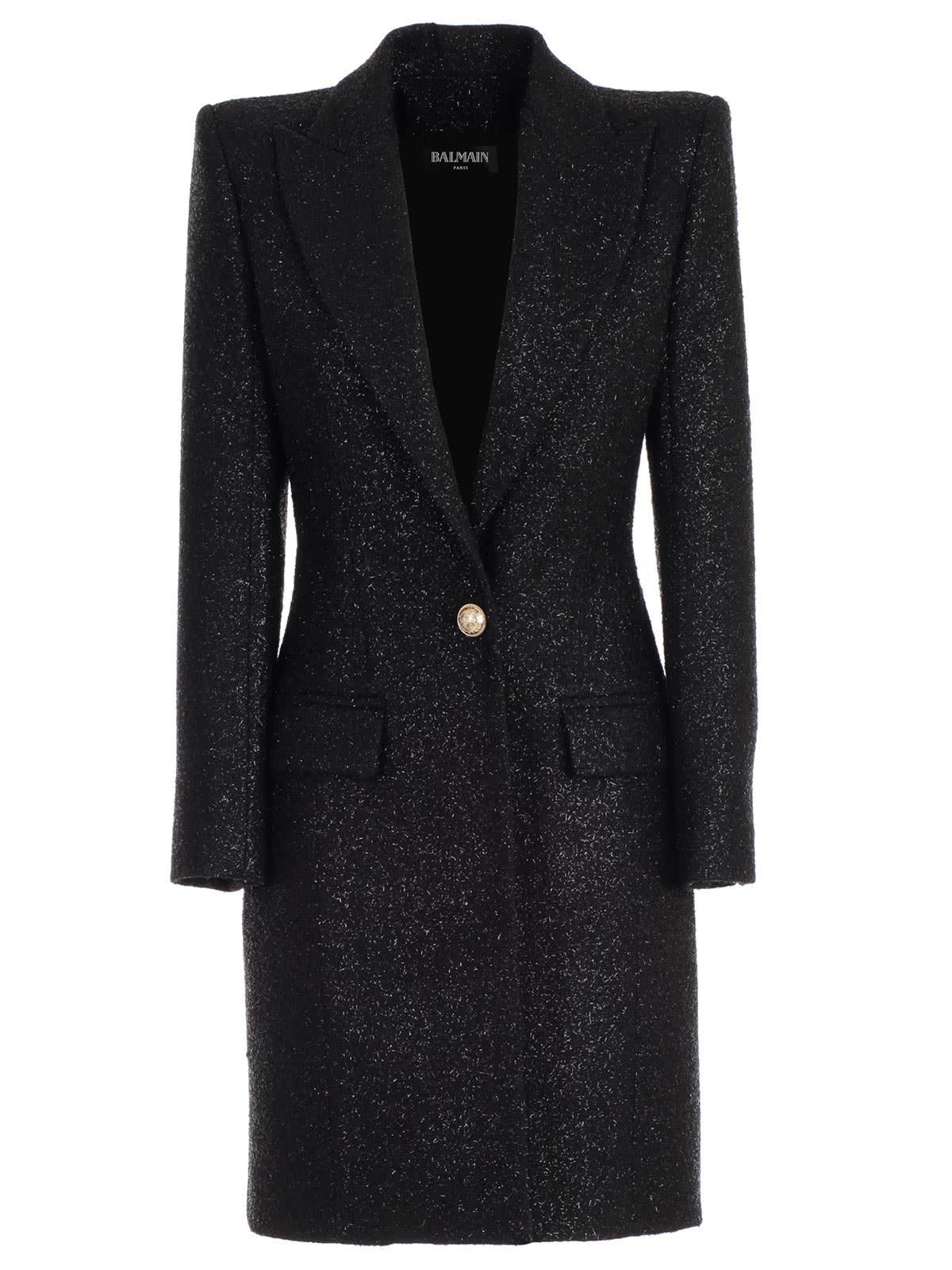 Balmain Coat One Button