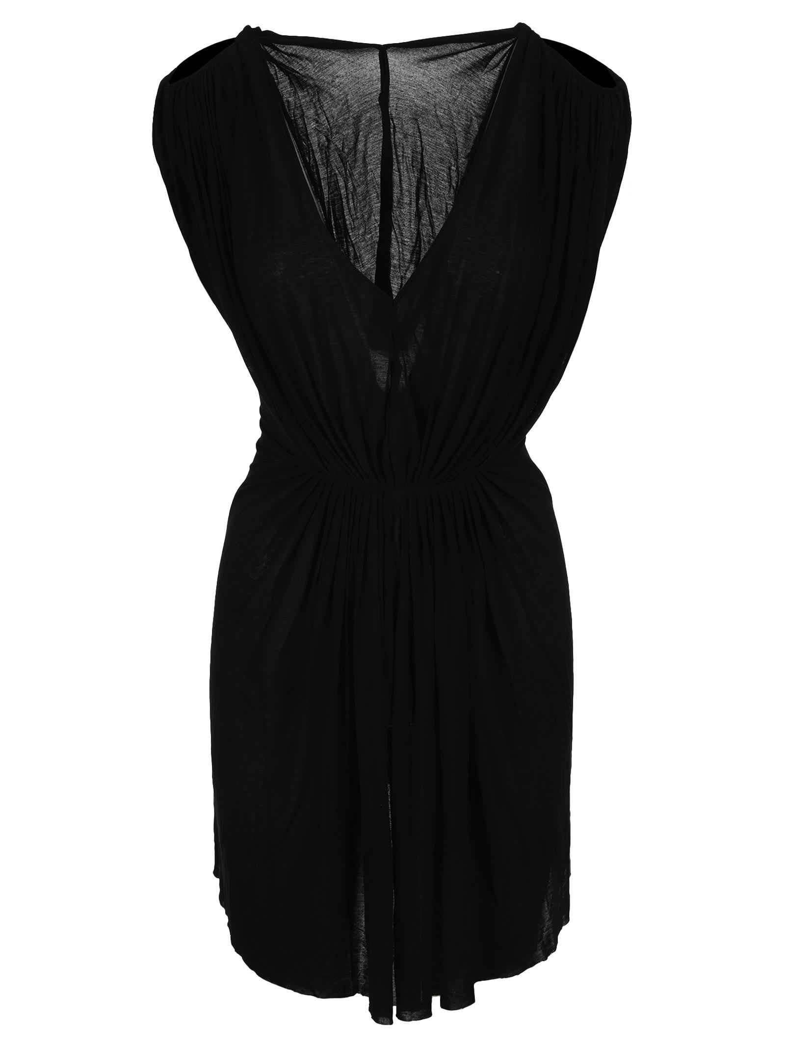 Buy Helena Gathered-waist Dress online, shop Rick Owens with free shipping