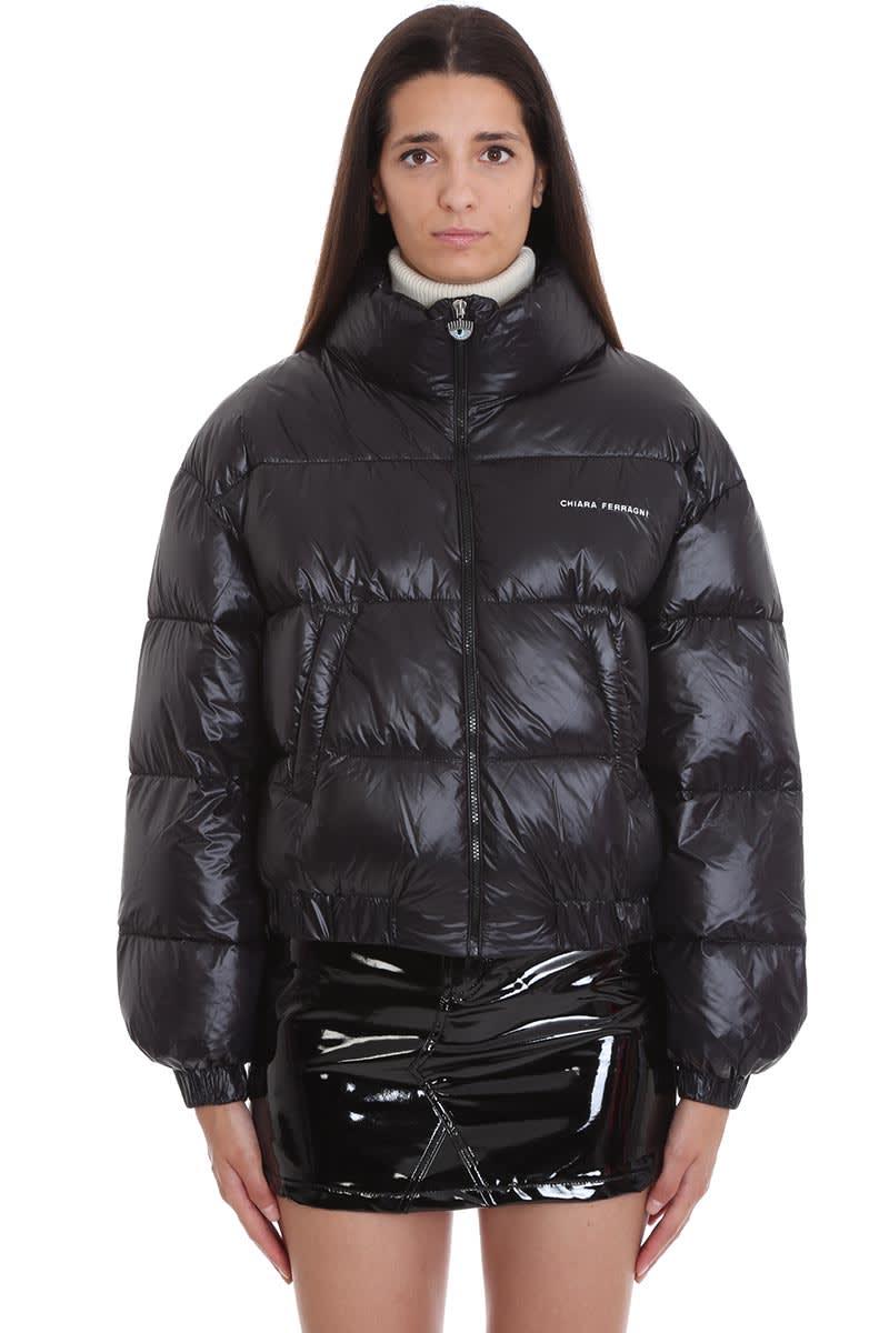 Chiara Ferragni Clothing In Black Polyester