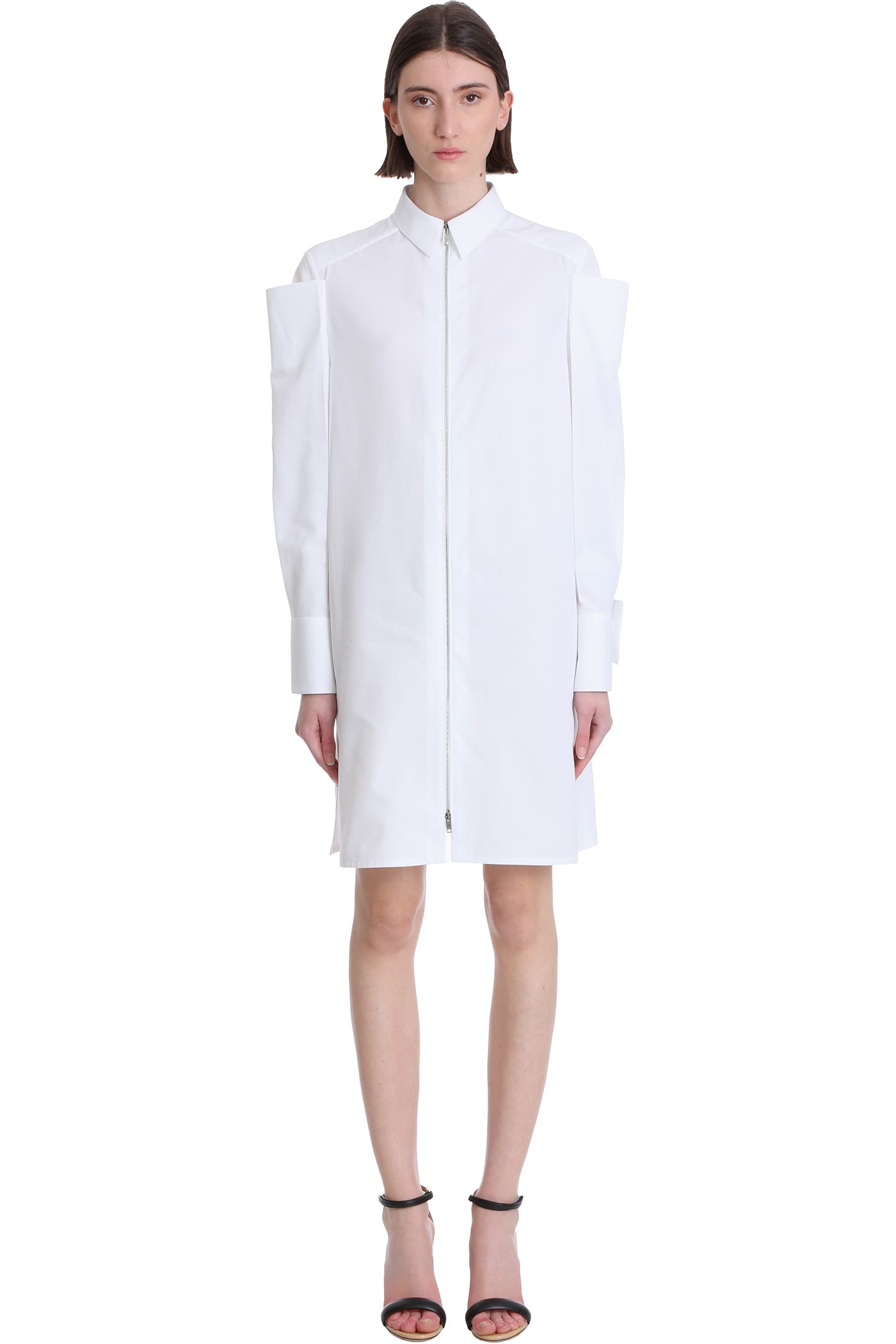Buy Givenchy Dress In White Cotton online, shop Givenchy with free shipping