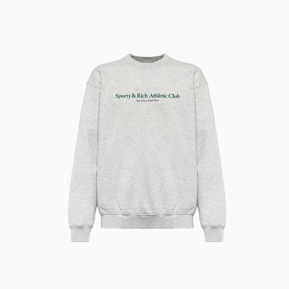 Sporty And Rich Cottons CREWNECK SPORTY AND RICH SWEATSHIRT