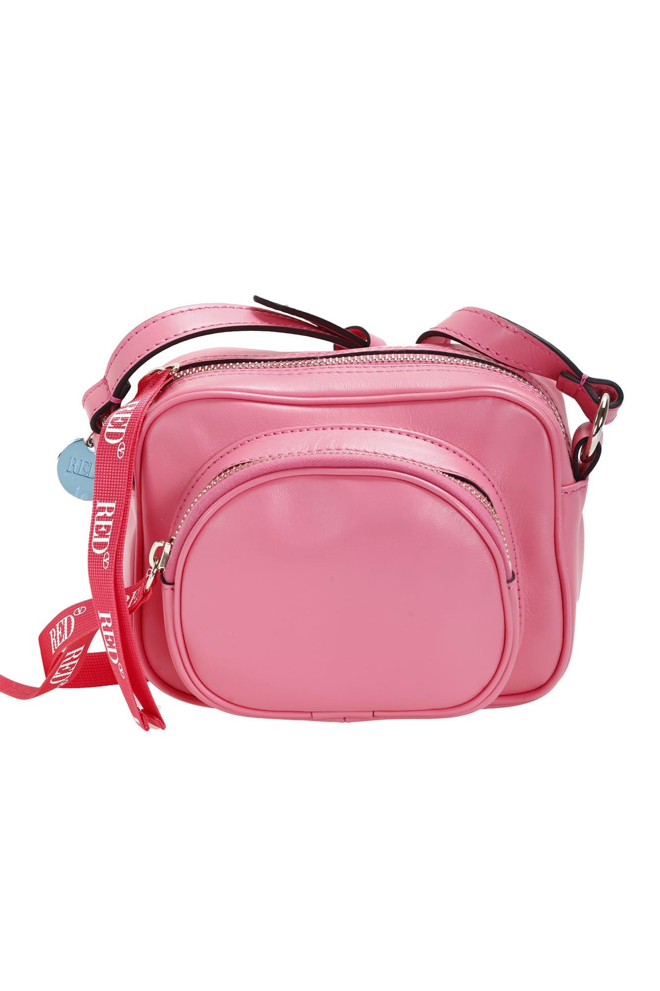 Red Valentino Shoulder Bag In Rosa