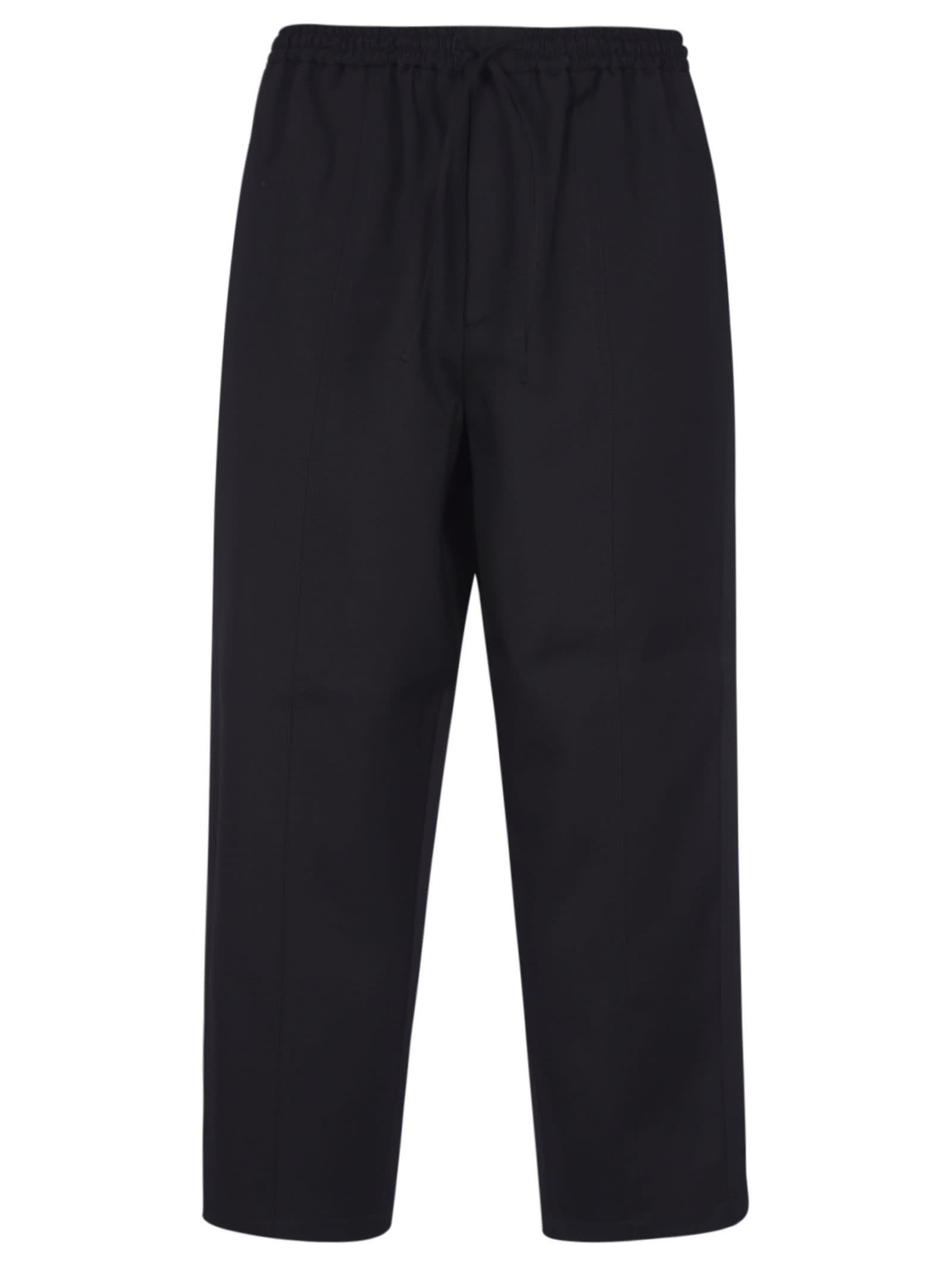 Jil Sander Ribbed Cropped Trousers