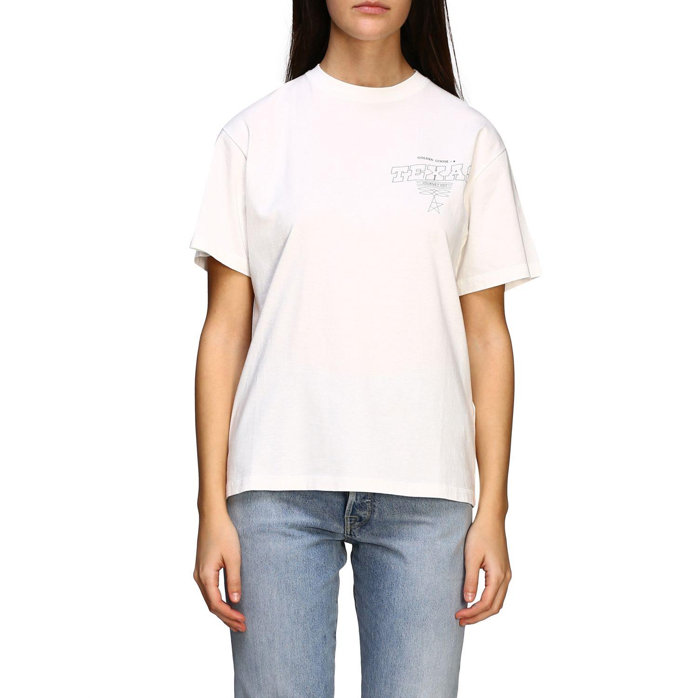Golden Goose T-shirt Short-sleeved Golden Goose T-shirt With Back Print