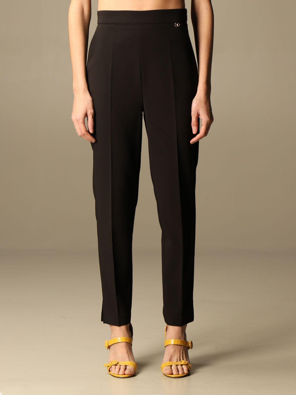 Elisabetta Franchi Celyn B. Elisabetta Franchi Pants Elisabetta Franchi Slim Trousers In Black