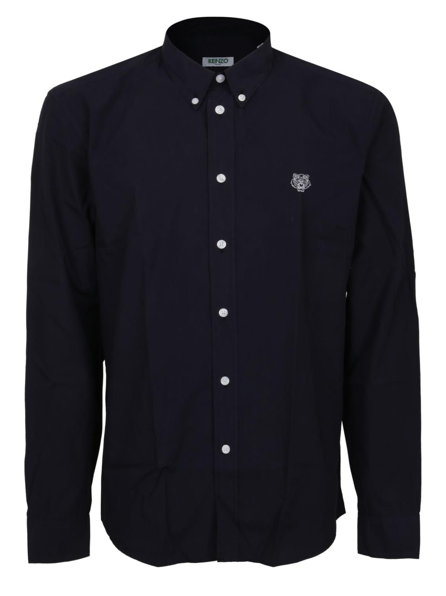 Kenzo T-shirts TIGER CREST SLIM FIT SHIRT