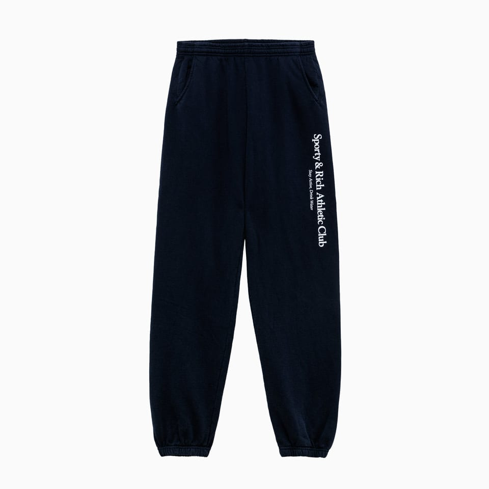 Sporty And Rich Athletic Club Pants Sw262na In Navy