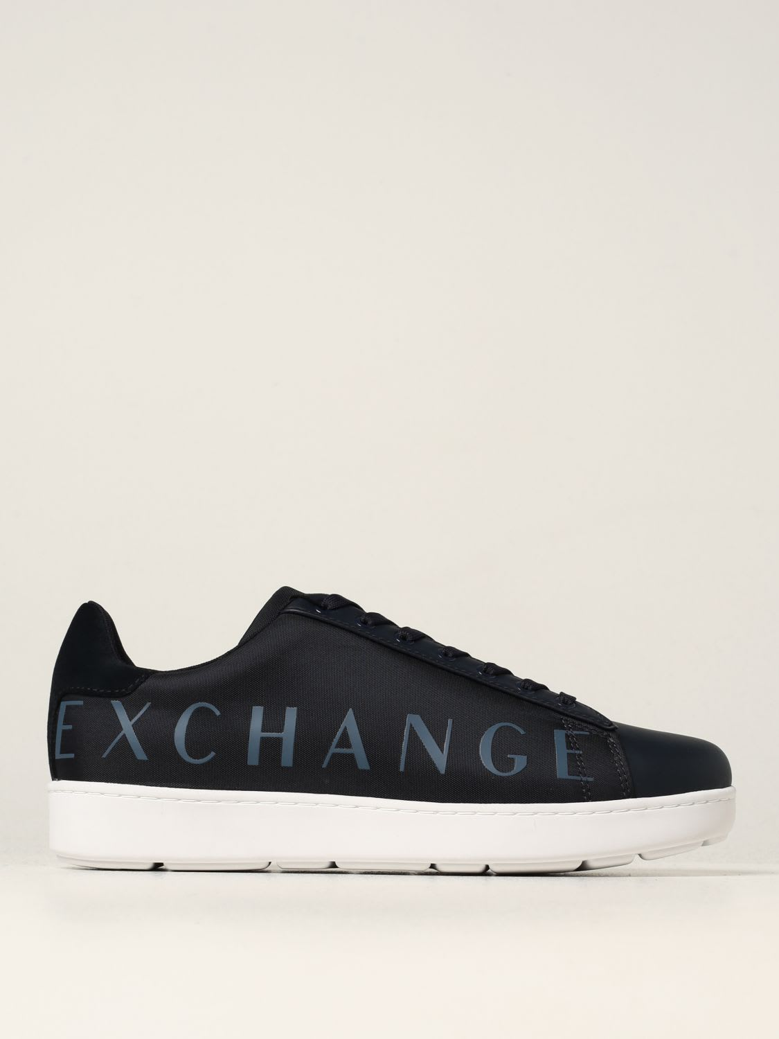Armani Exchange Sneakers Armani Exchange Sneakers In Fabric And Leather
