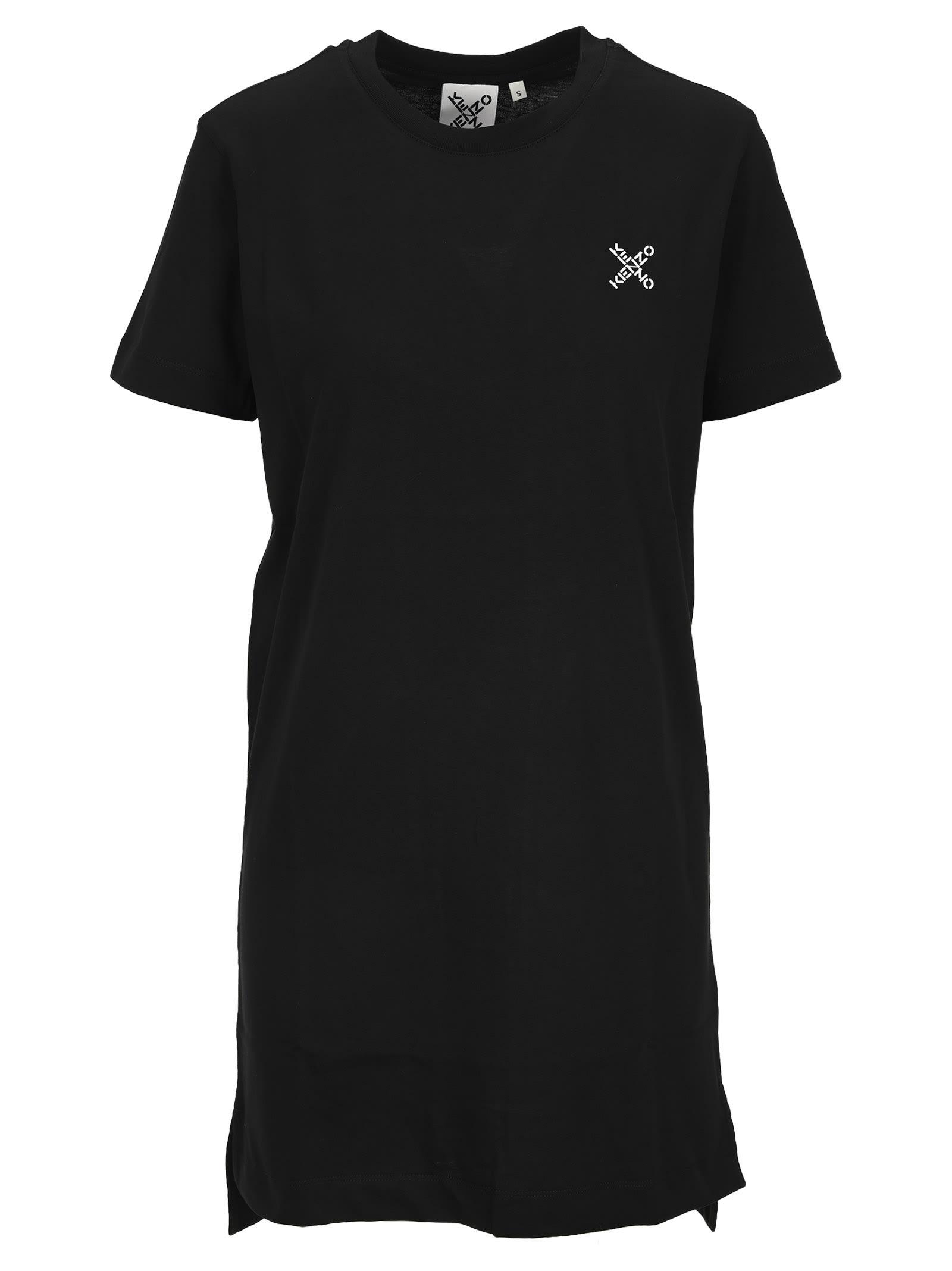 Kenzo Kenzo Sport little X T-shirt Dress