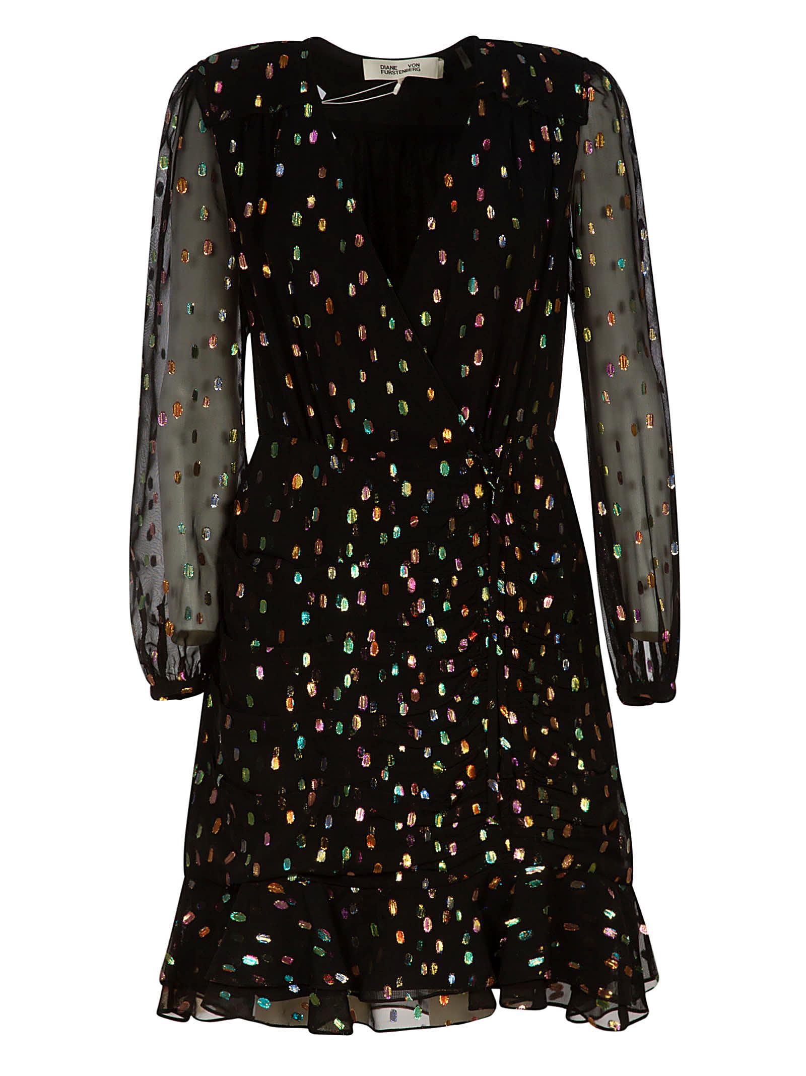 Buy Diane Von Furstenberg Bea Dress online, shop Diane Von Furstenberg with free shipping