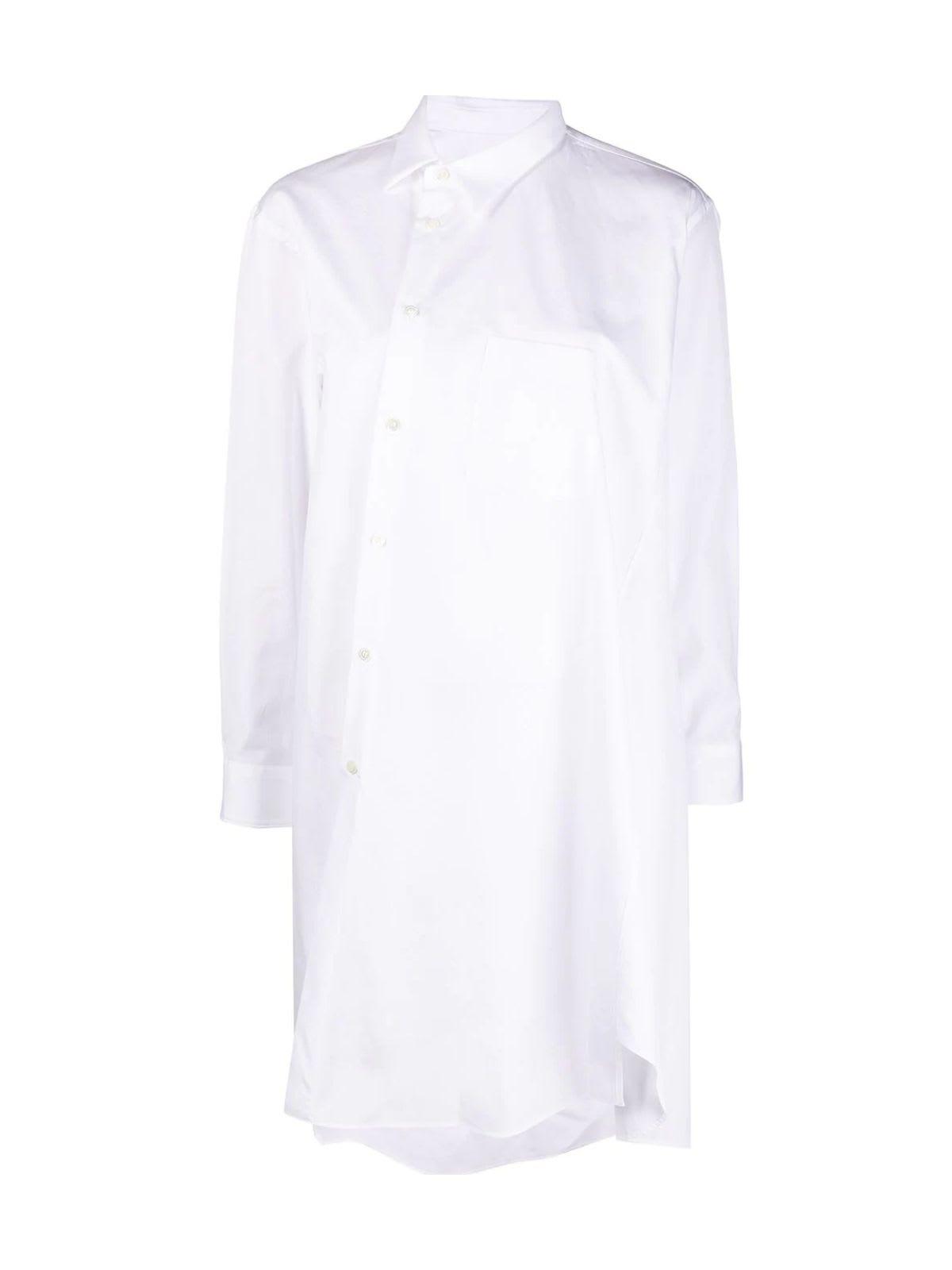 Comme Des Garçons Clothing COTTON POPELINE LONG SHIRT