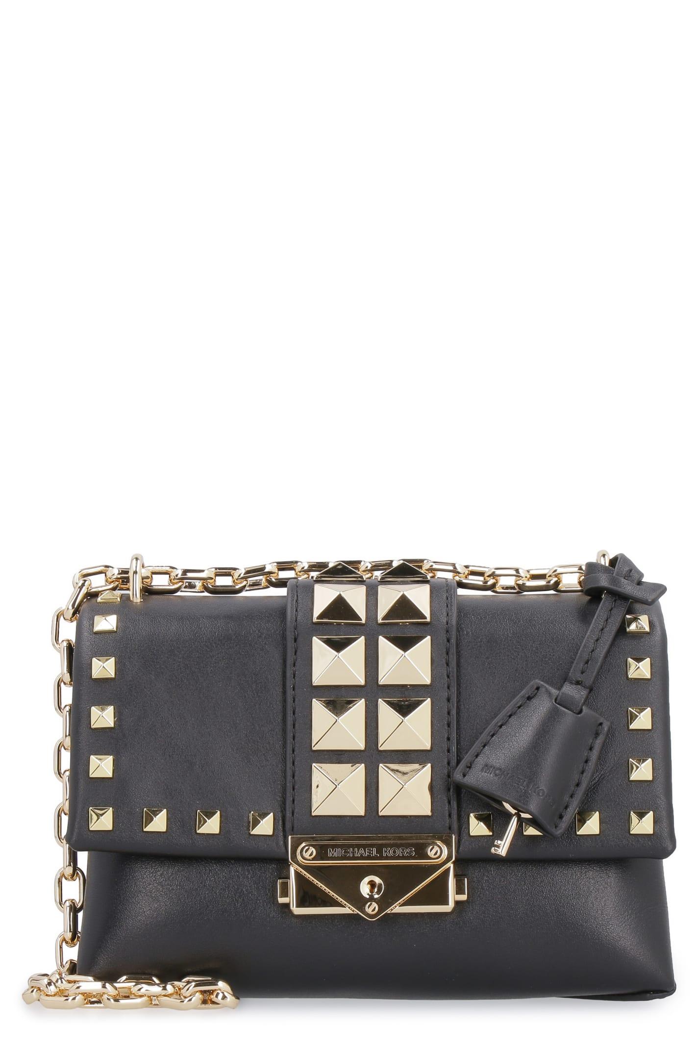 04239b184bd Michael Kors Cece Studded Leather Mini-bag