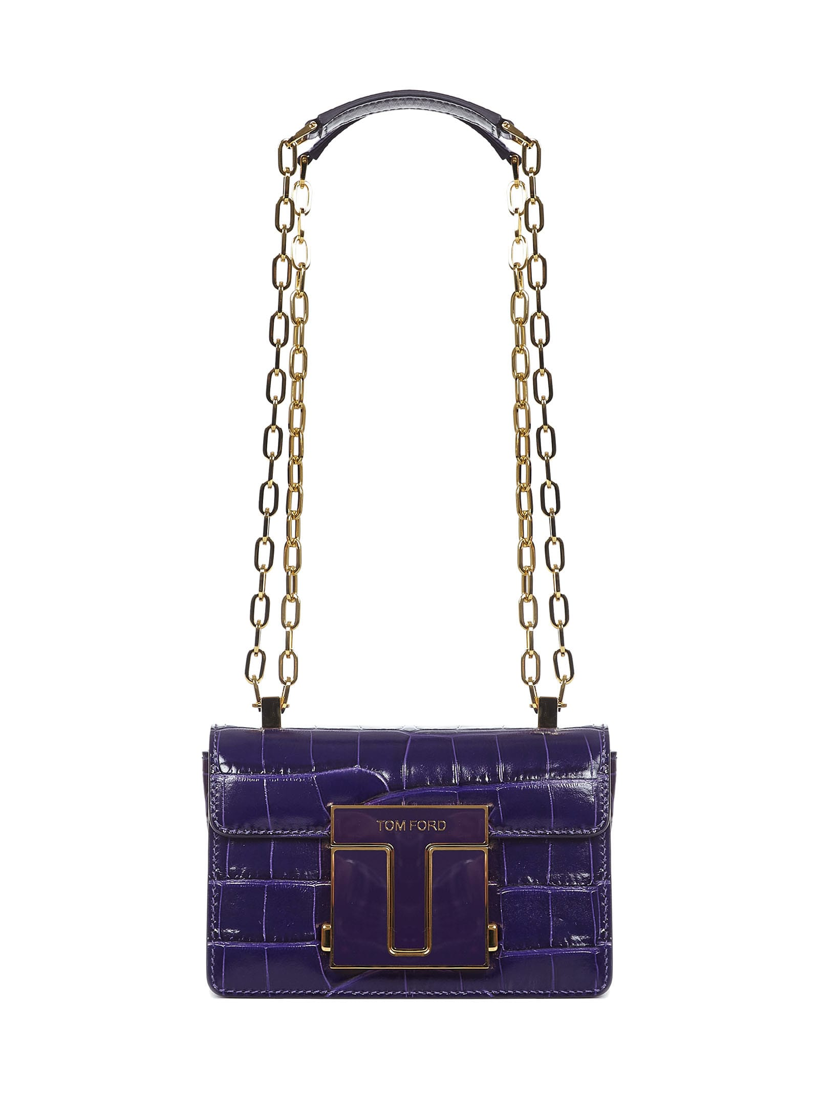 Tom Ford Leathers 001 SMALL SHOULDER BAG