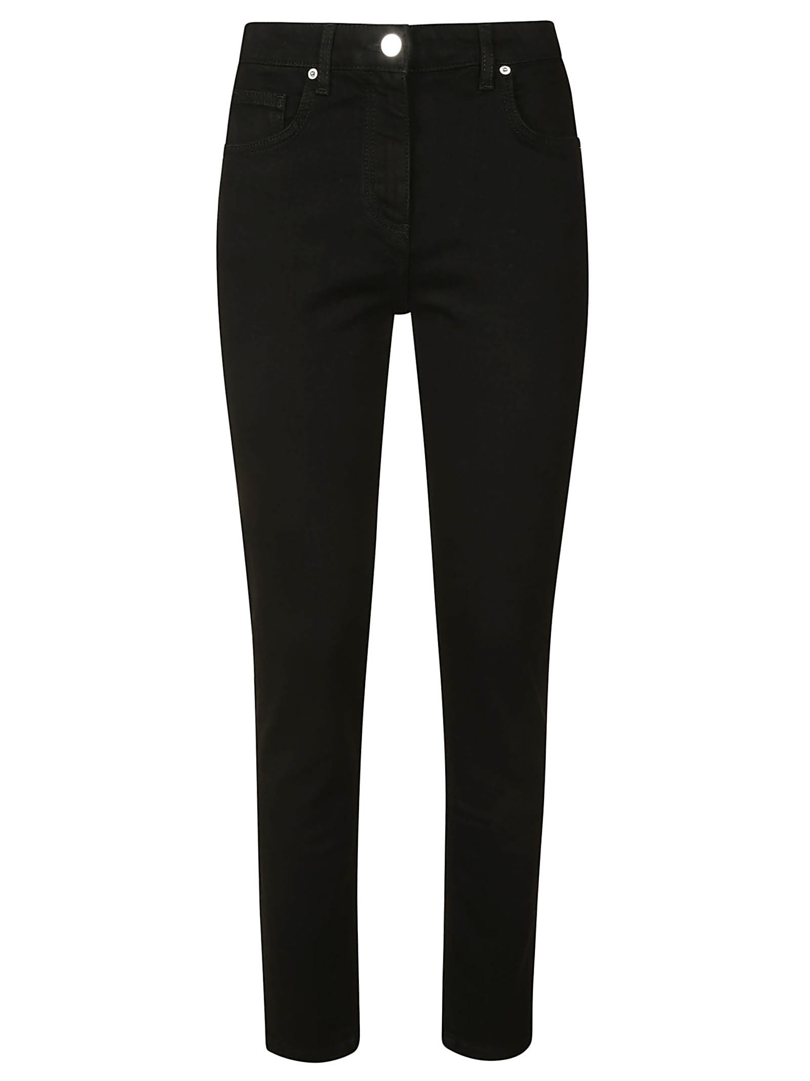 Long Length Fitted Jeans